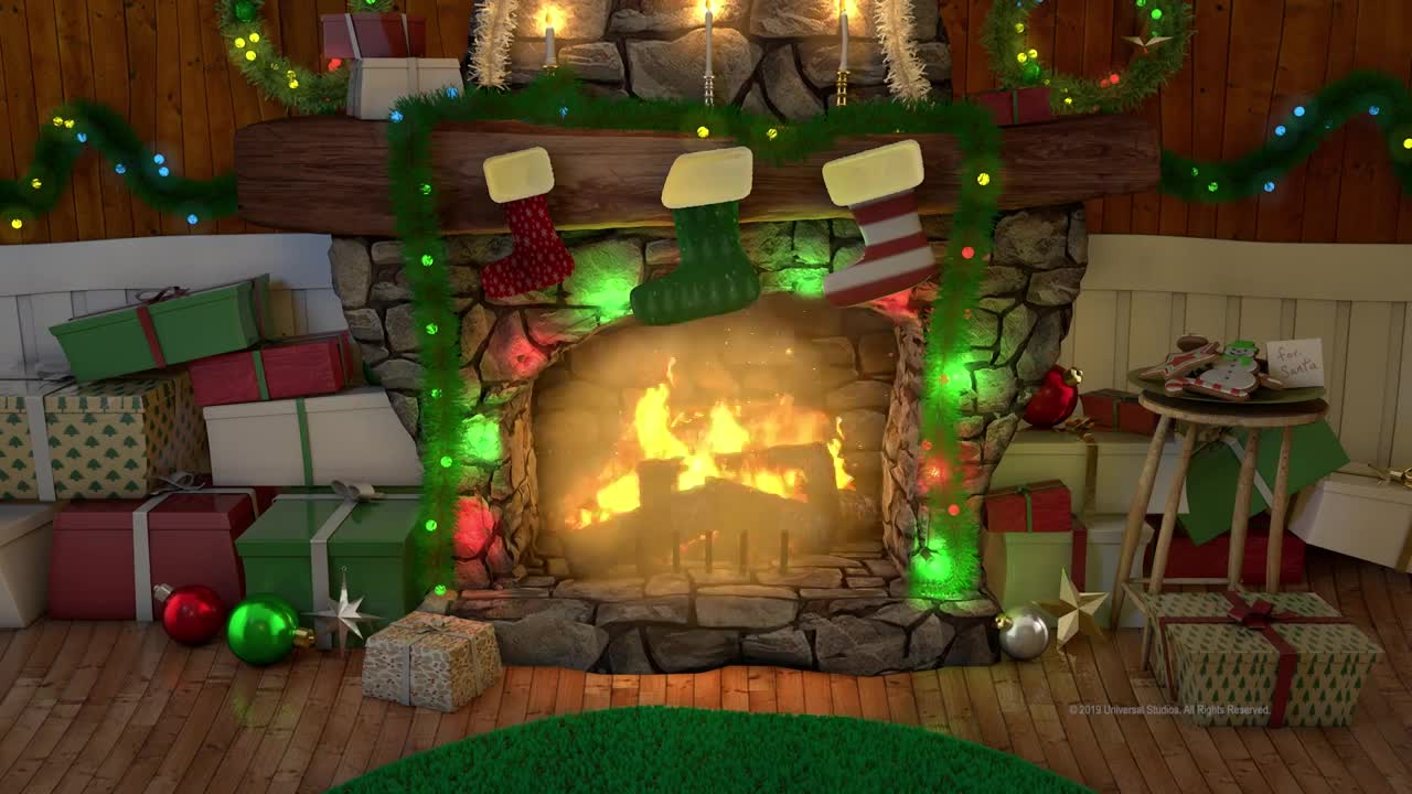 Thumbnail for The Grinch - Cindy-Lou's Yule Log