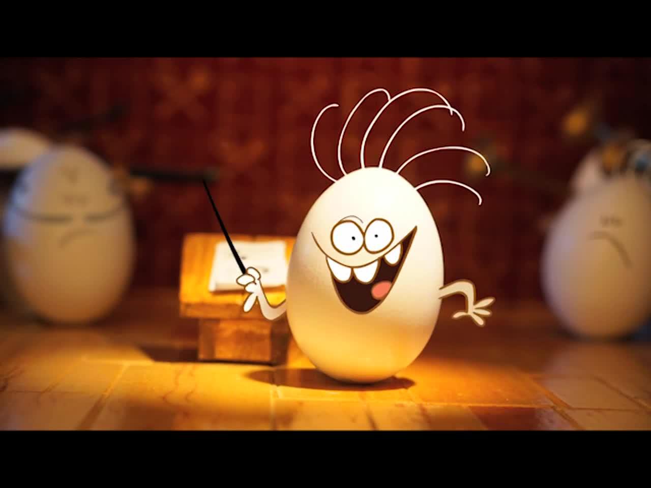 Thumbnail for Nickelodeon Ident_Rock,Egg,Mom& Brat