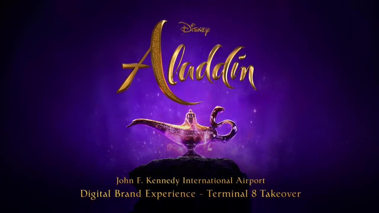 Thumbnail for Aladdin - JFK Airport Terminal Takeover