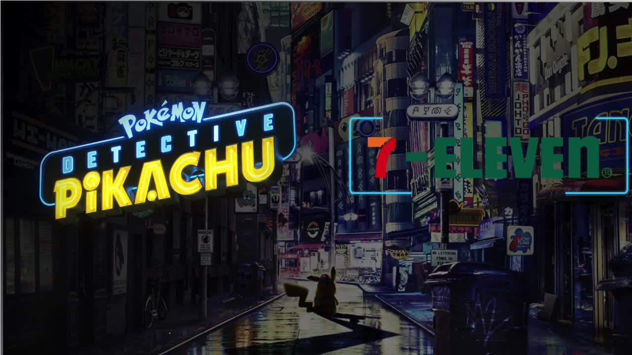 Thumbnail for Pokemon Detective Pikachu & 7-Eleven