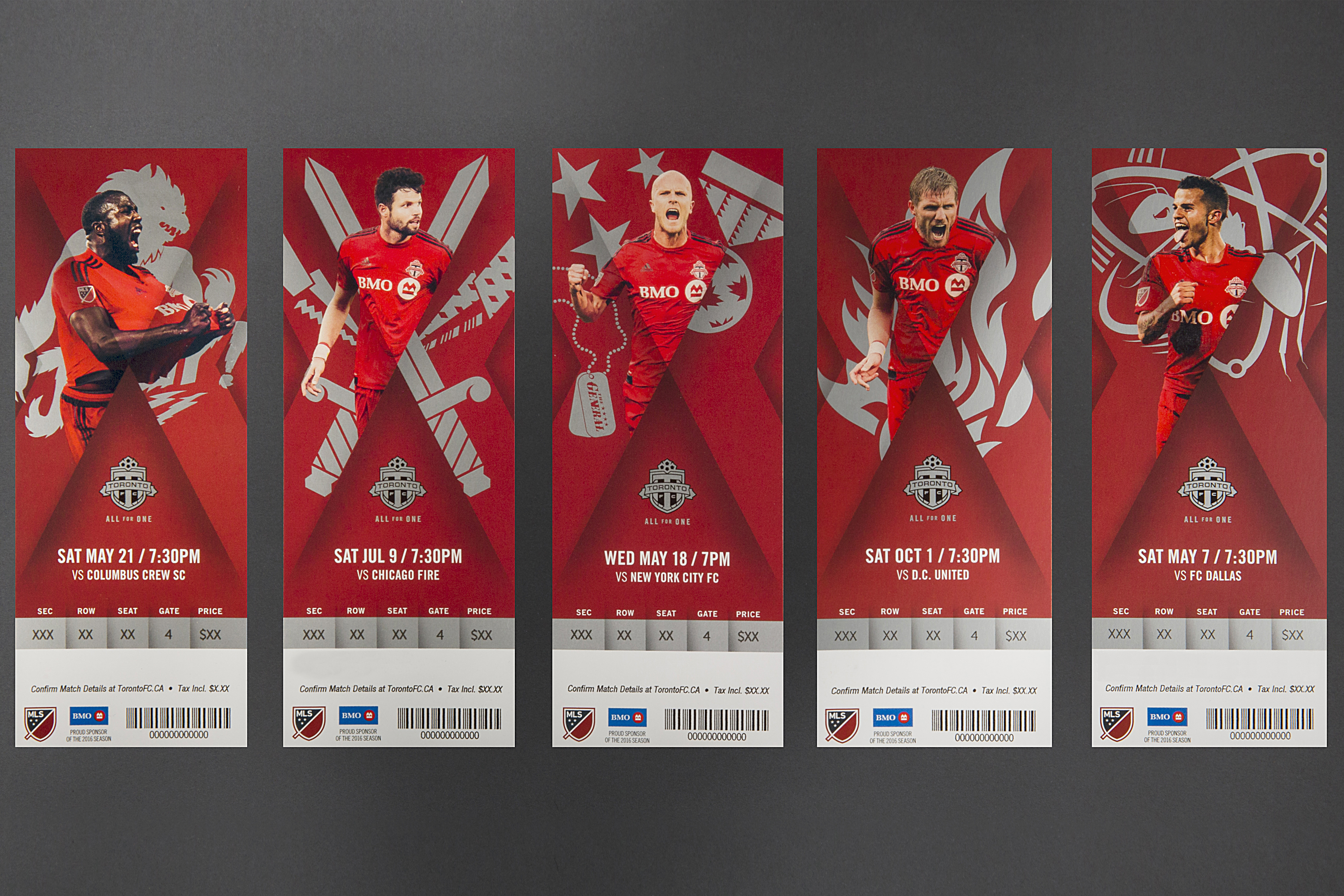 Thumbnail for Toronto FC 2016 Season Ticket Package