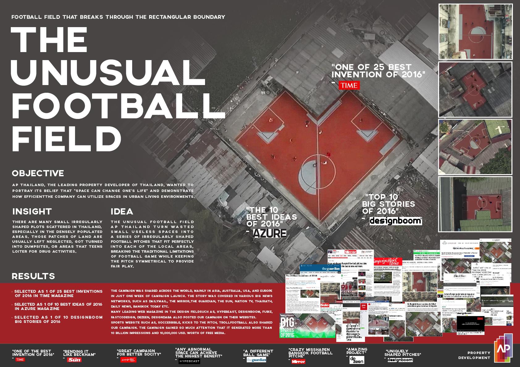 The Unusual Football Field Project Thumbnail