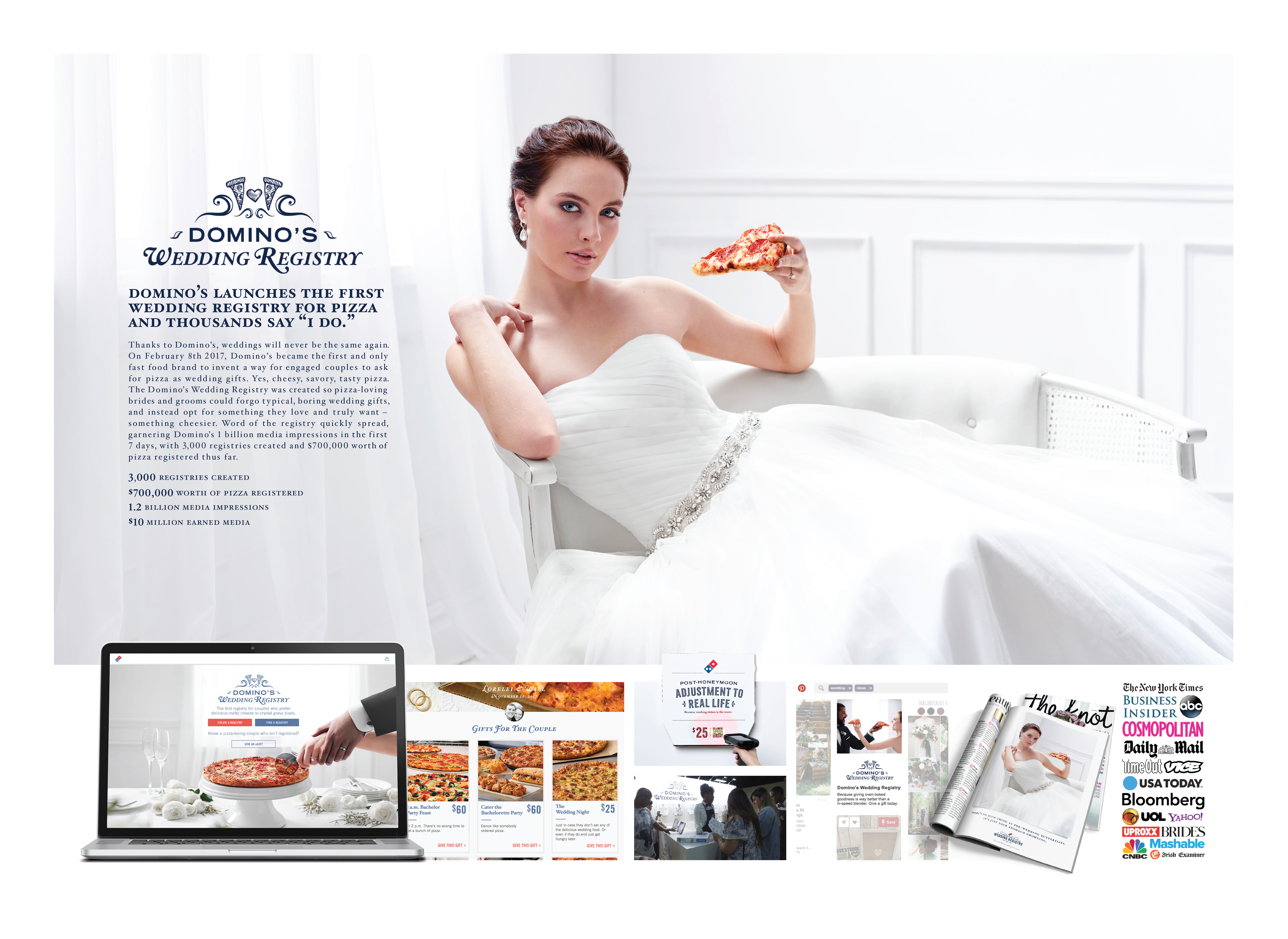 Domino's Wedding Registry  Thumbnail