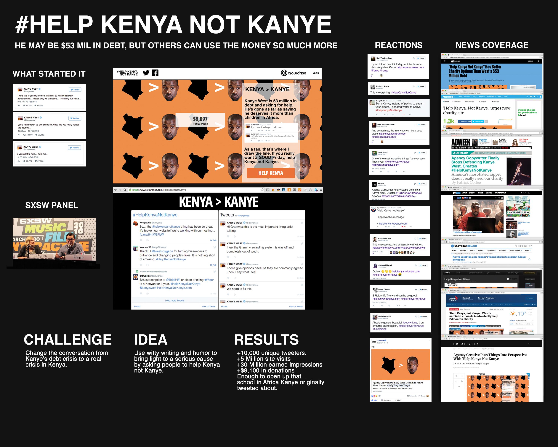 Help Kenya, Not Kanye Thumbnail