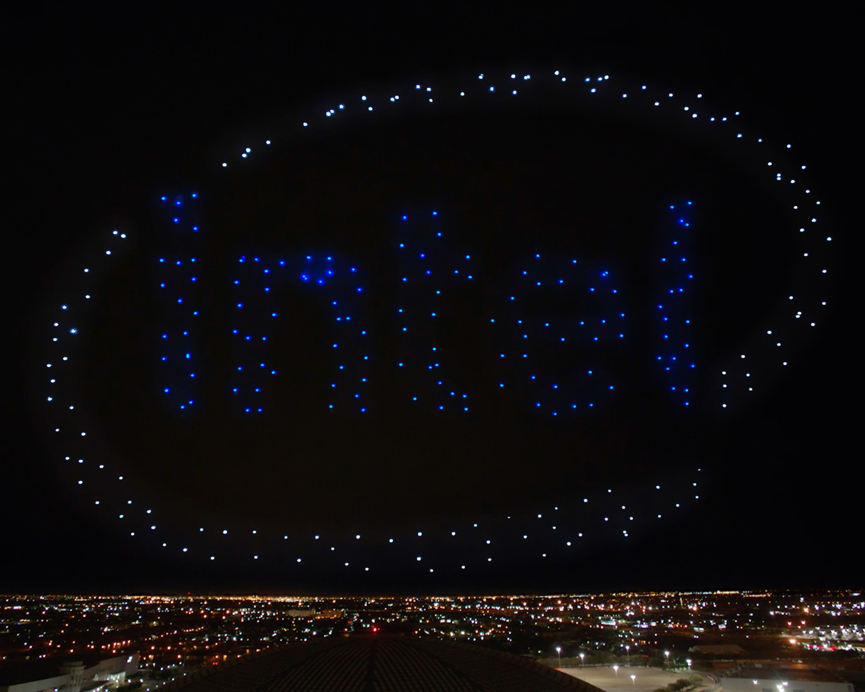 Thumbnail for Intel Drones x Super Bowl Halftime Show with Lady Gaga