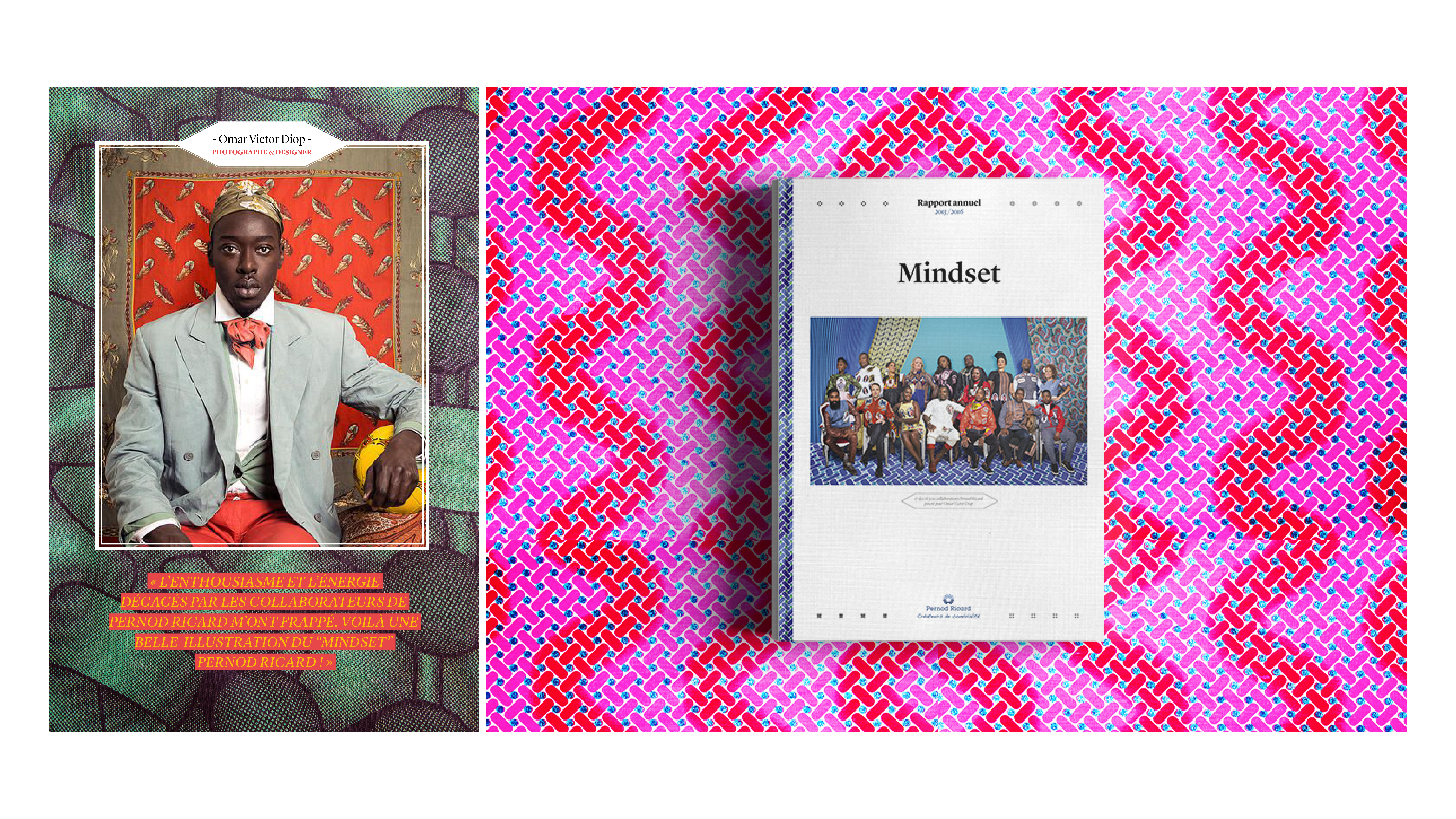 Pernod Ricard 2015/2016 Annual Report - Mindset Thumbnail
