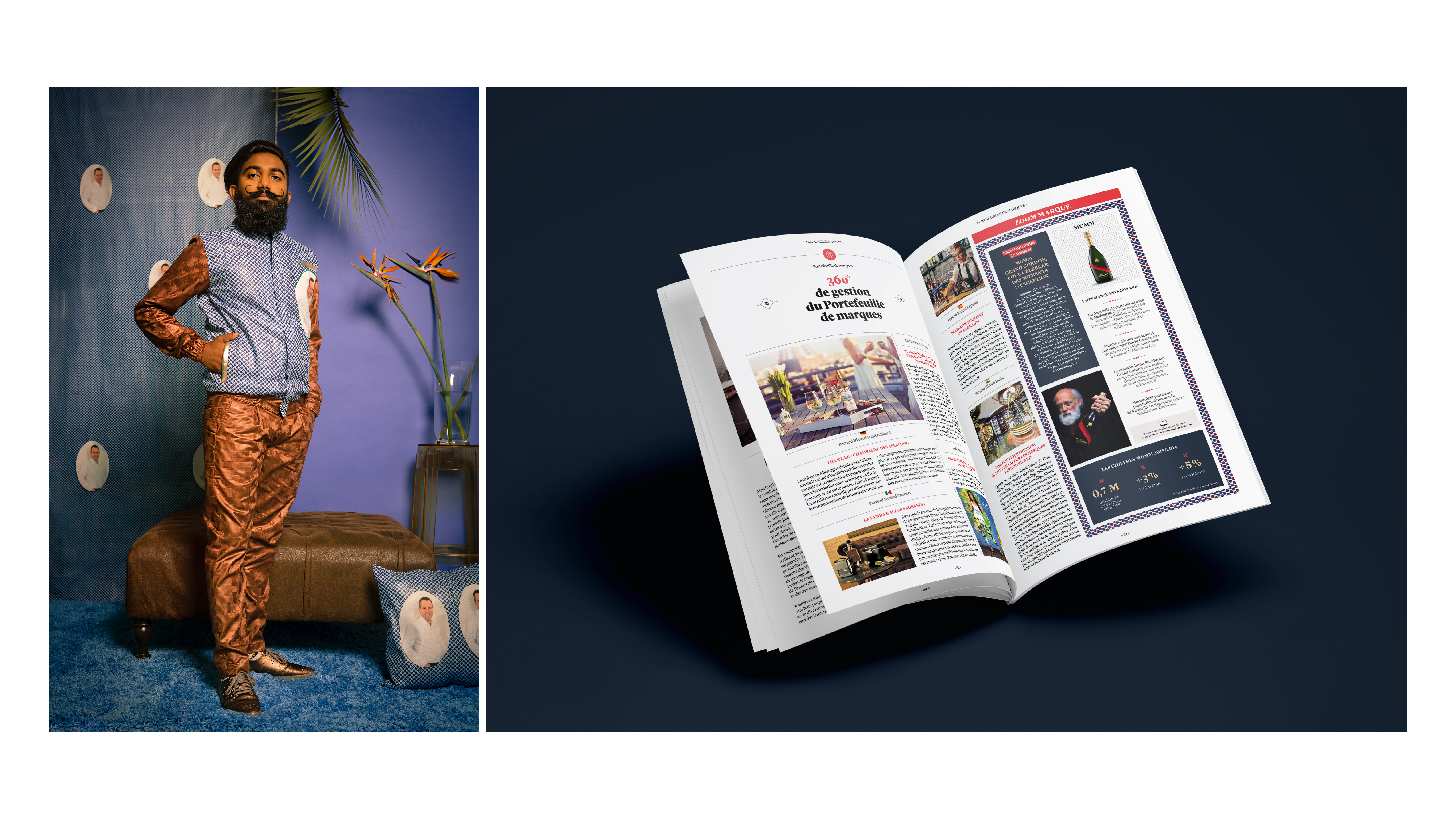 Thumbnail for Pernod Ricard 2015/2016 Annual Report - Mindset