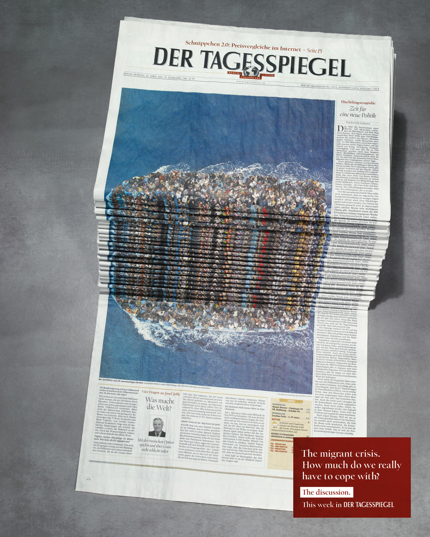 Newspaper Stack - Refugees Thumbnail
