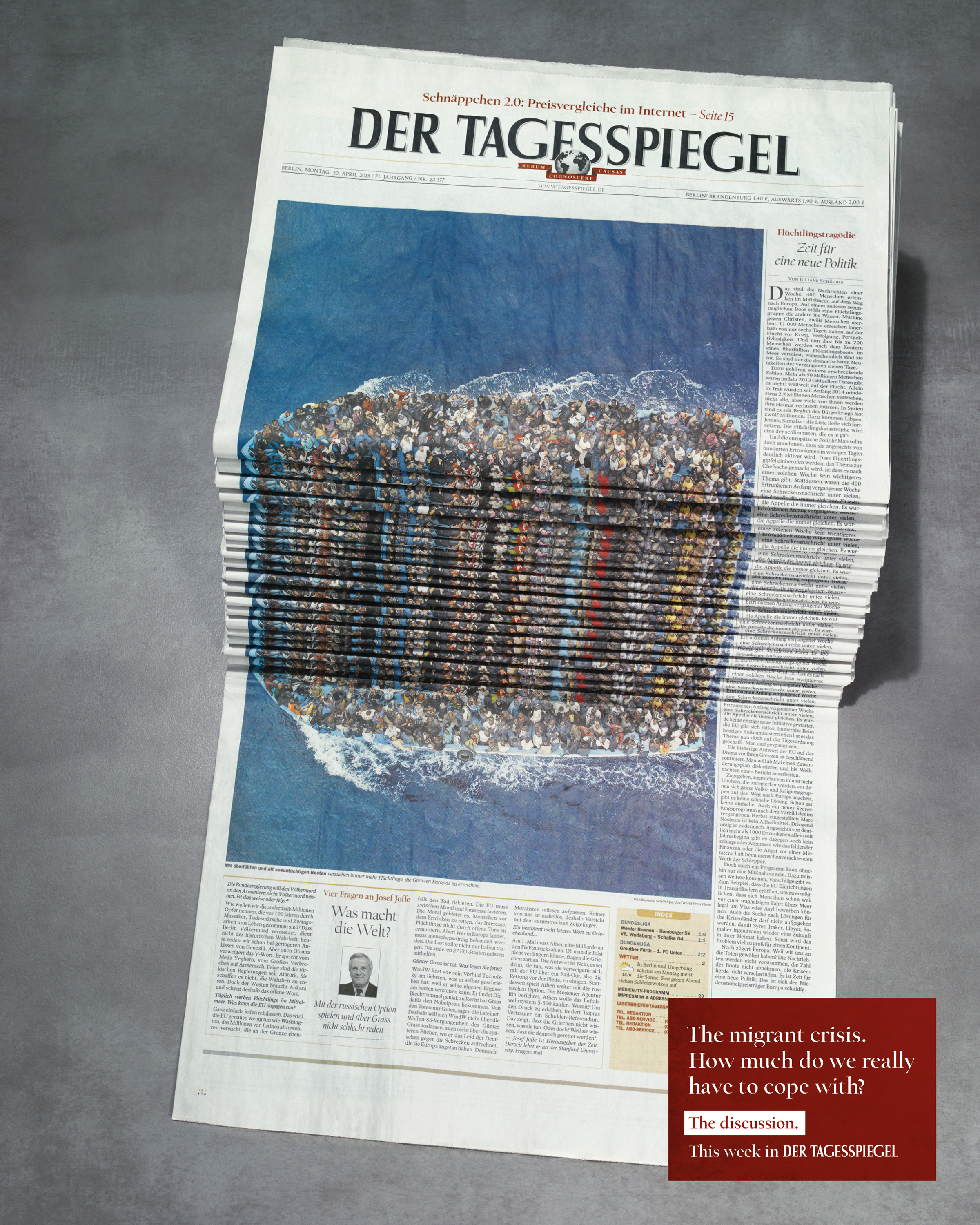 Thumbnail for Newspaper Stack - Refugees