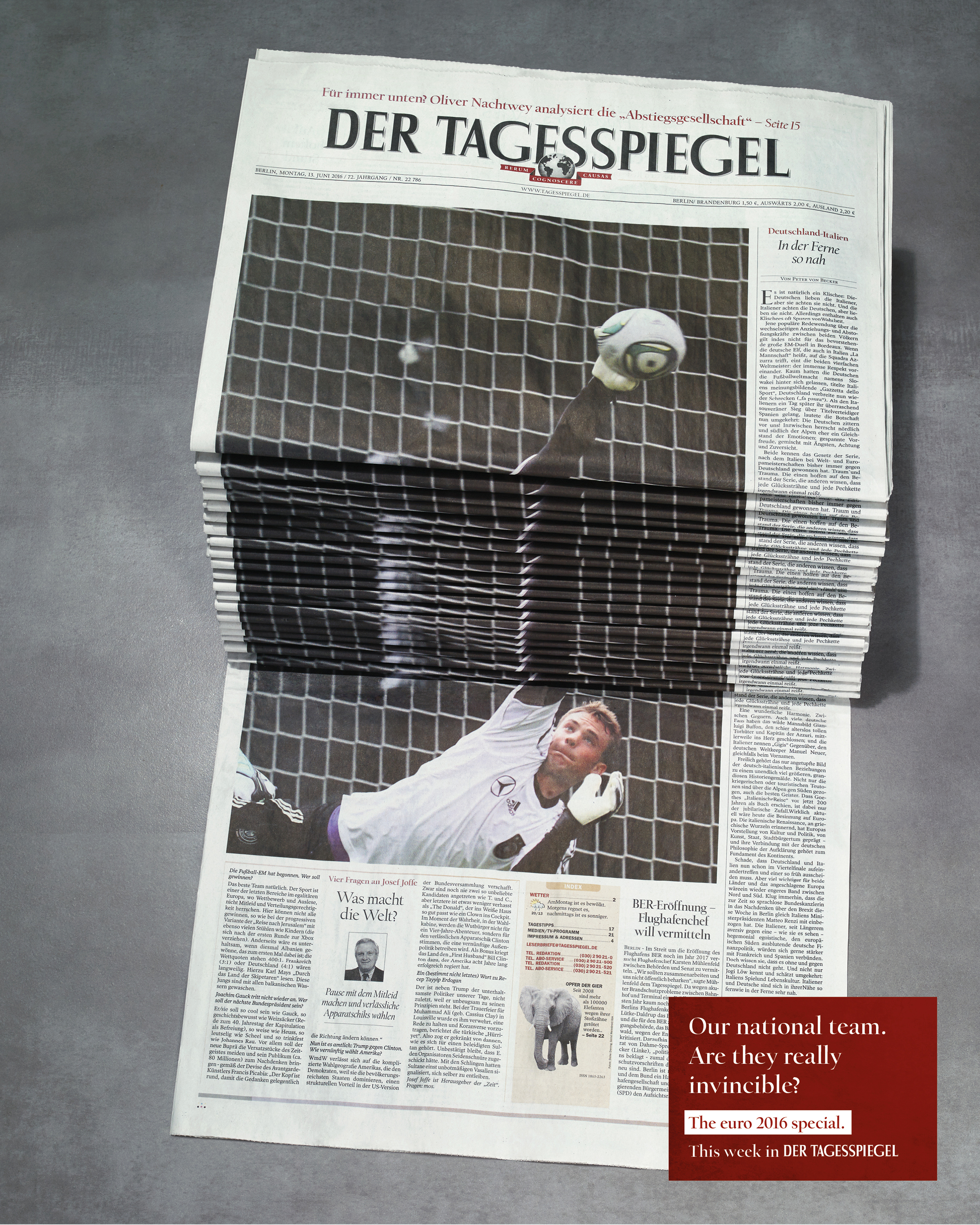 Newspaper Stack - Soccer Thumbnail