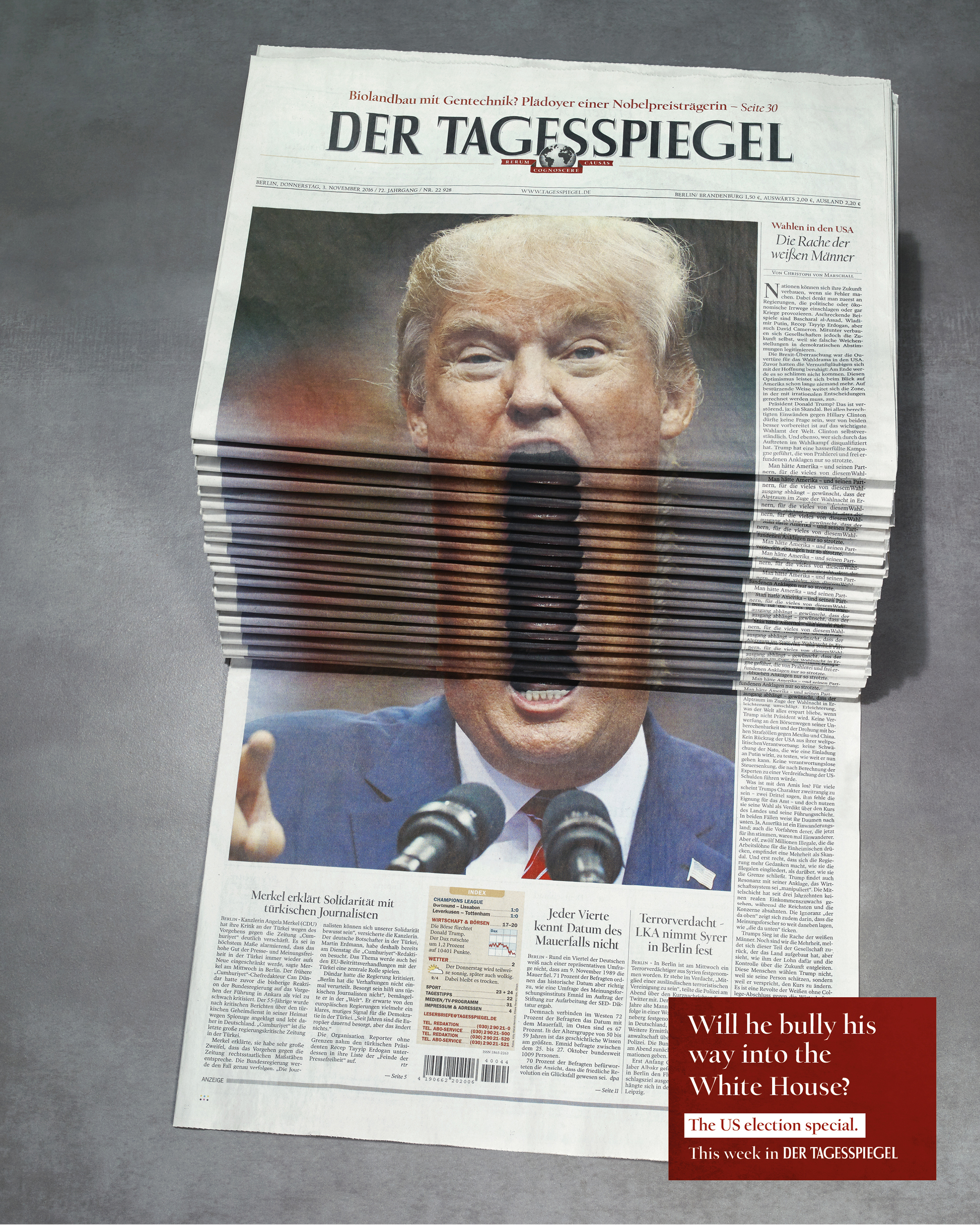Newspaper Stack - Trump Thumbnail