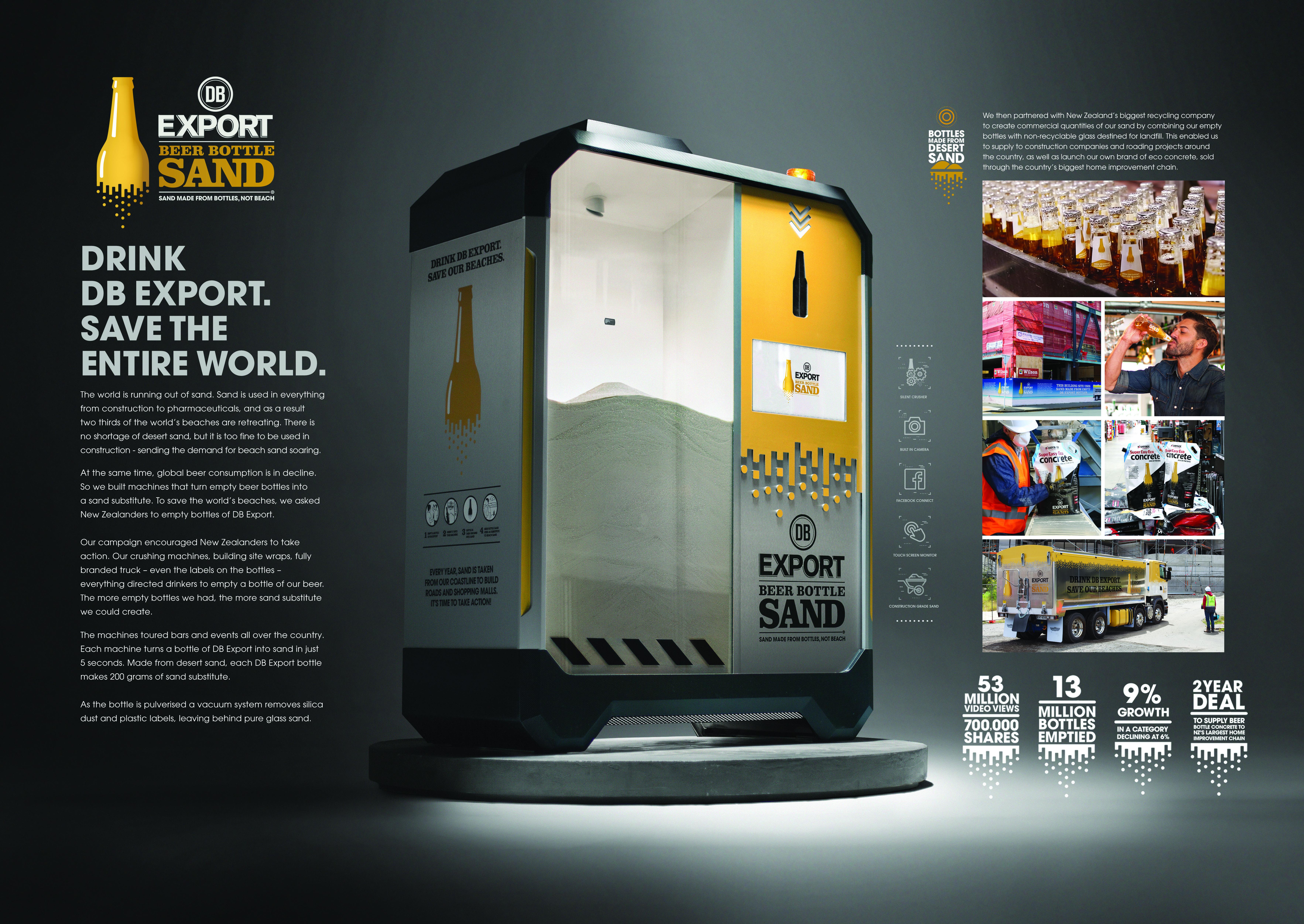 DB Export Beer Bottle Sand Thumbnail