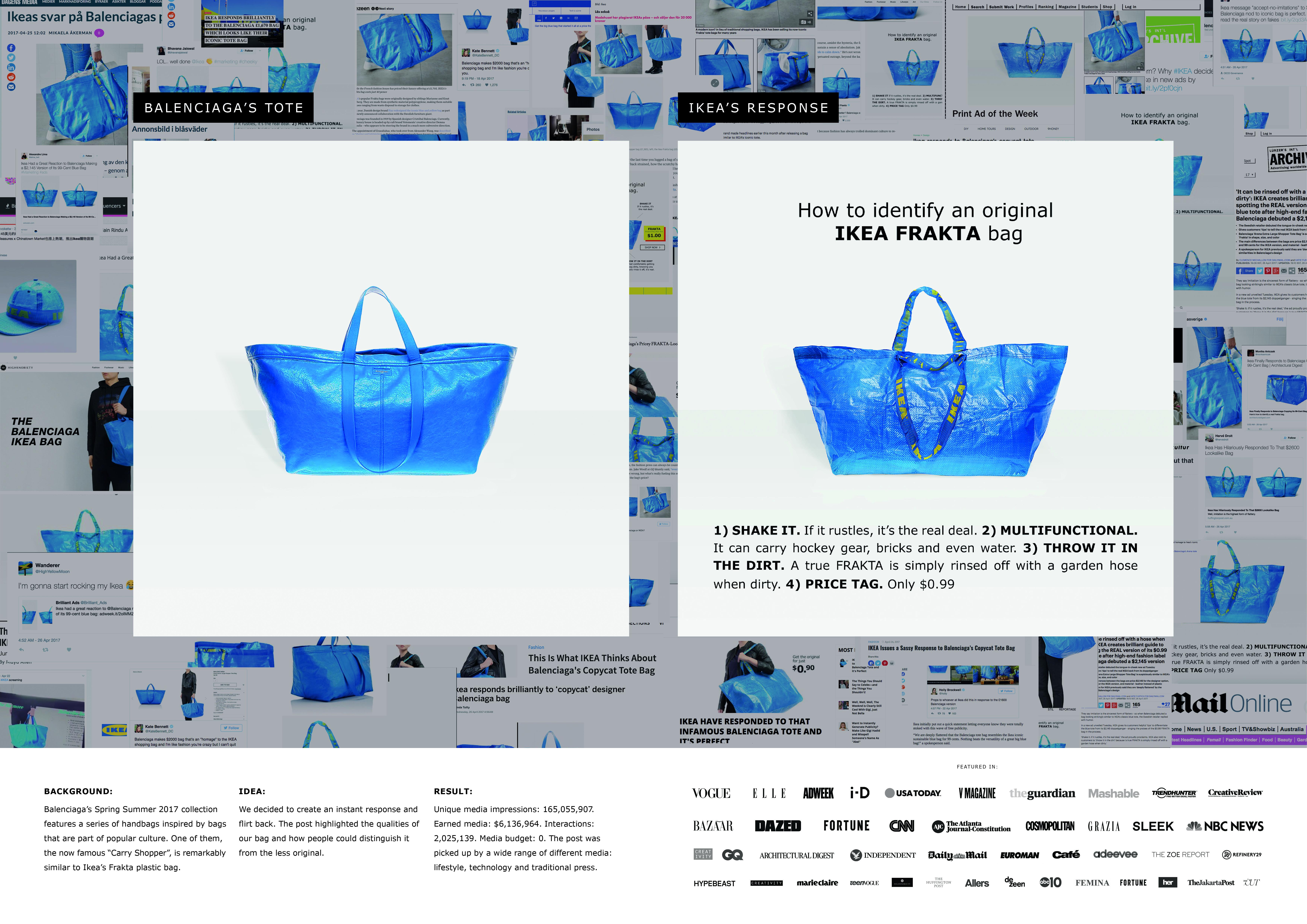 Ikea Responds to Balenciaga Thumbnail