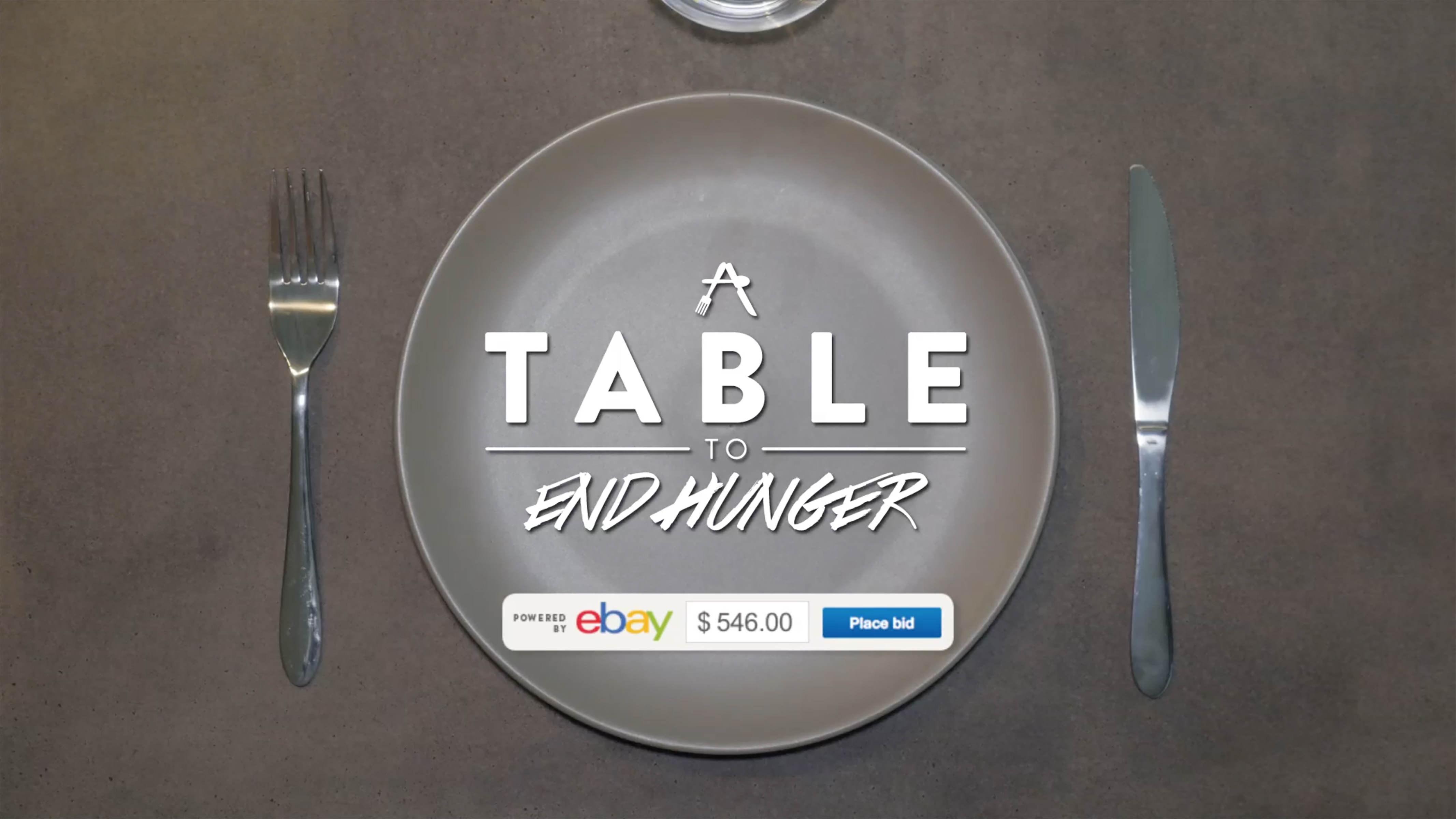 A Table To End Hunger Thumbnail