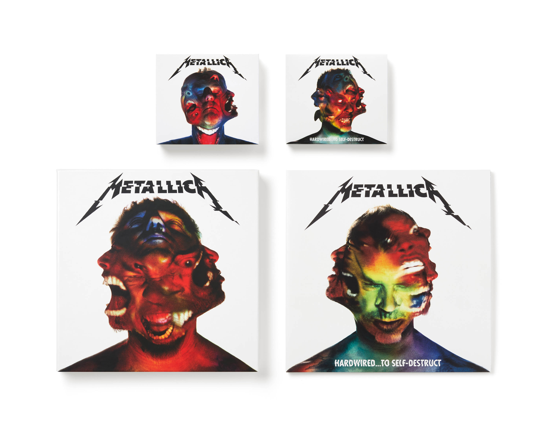 Metallica Hardwired... to Self-Destruct album design  Thumbnail
