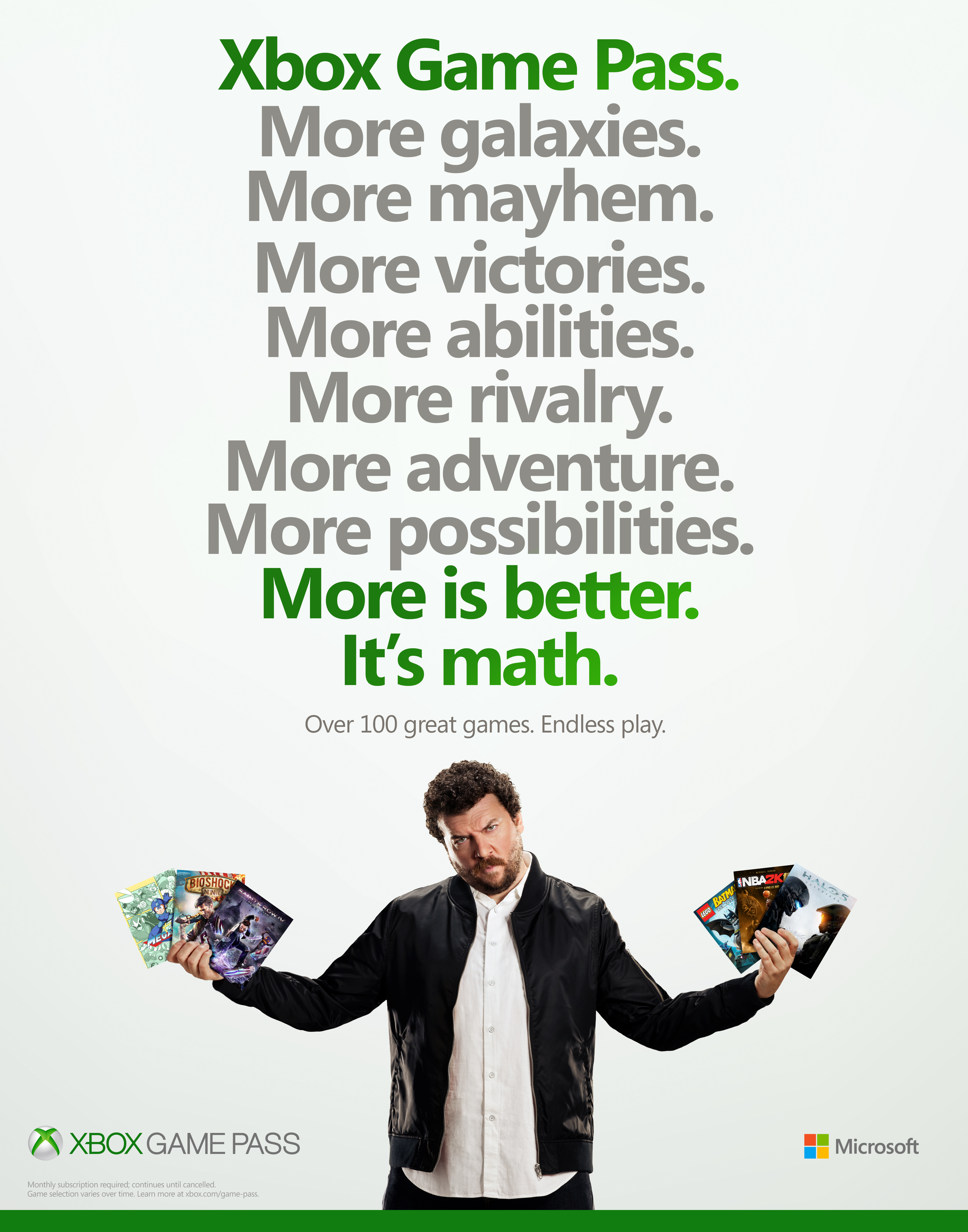 Thumbnail for Xbox Game Pass Launch Campaign