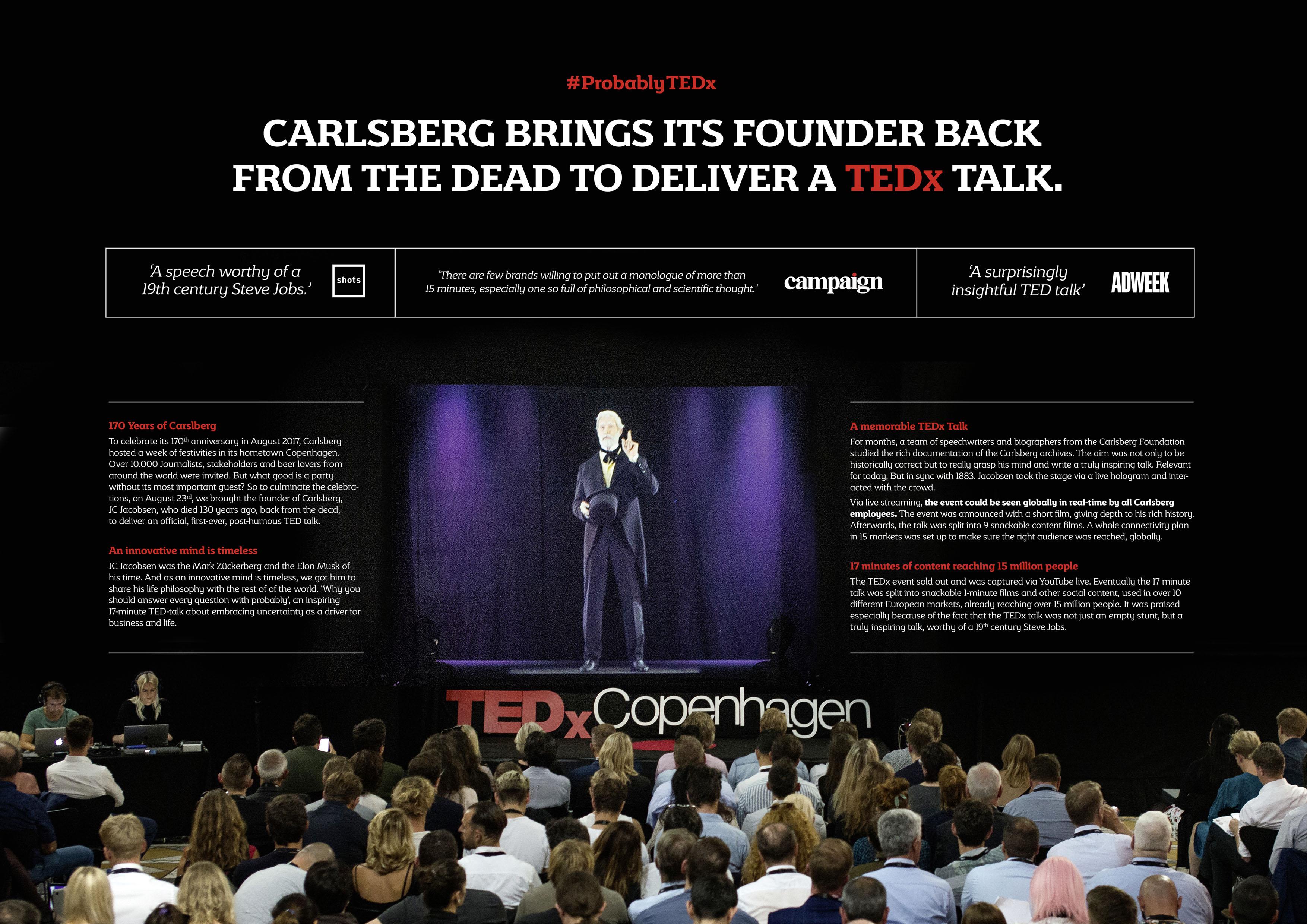 Carlsberg Probably  TEDx Thumbnail