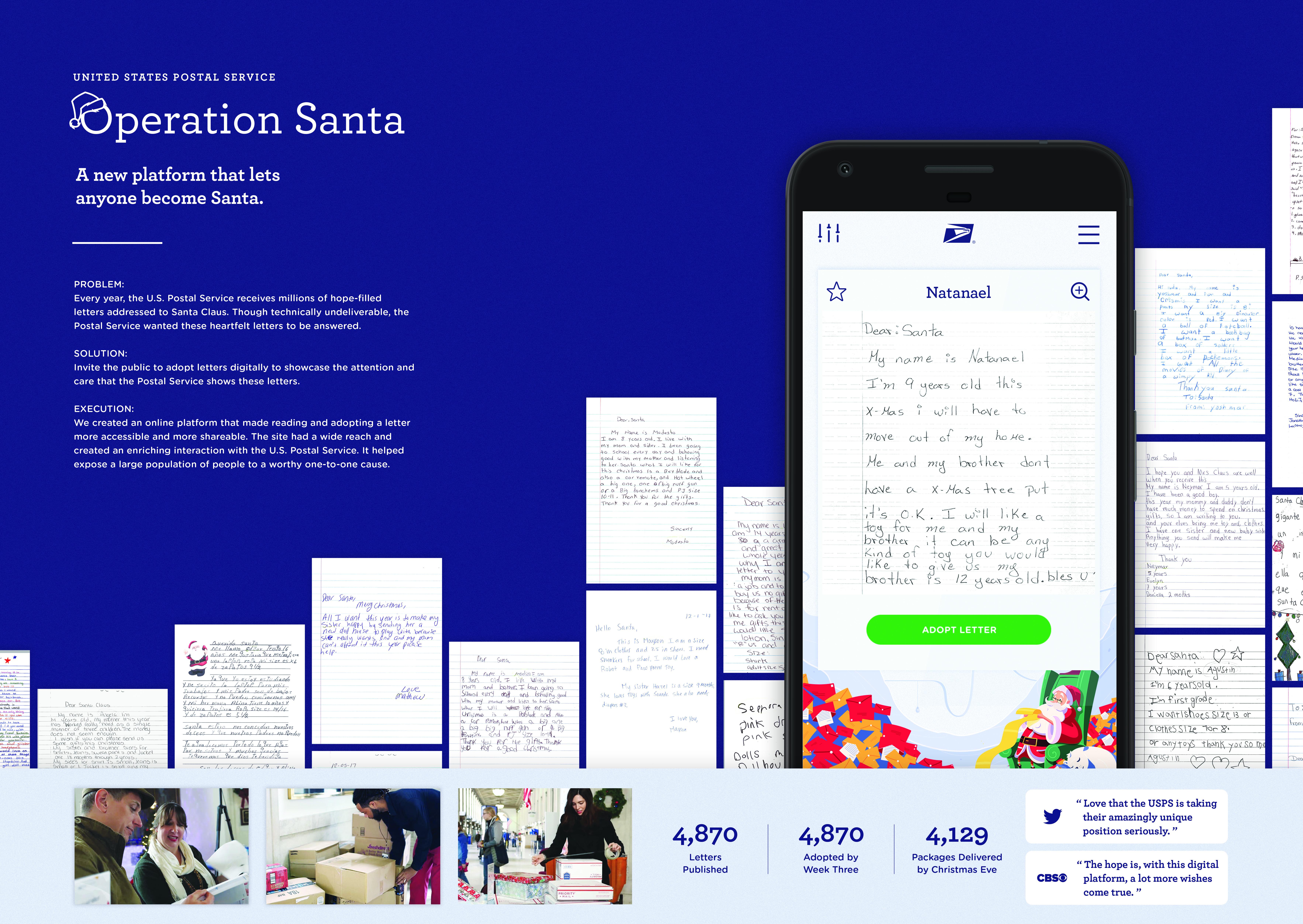 Thumbnail for USPS Operation Santa