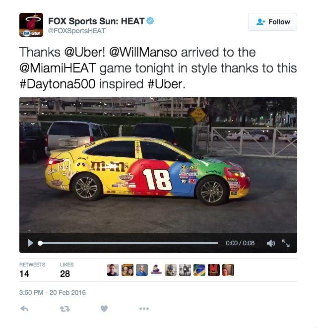 Thumbnail for Uber NASCAR