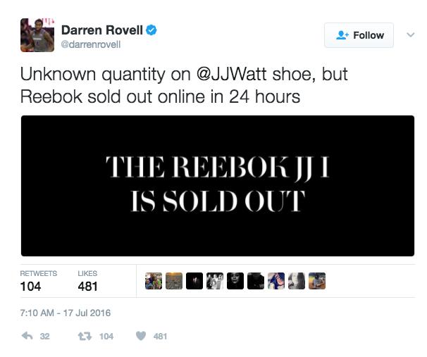 Thumbnail for Reebok JJ I Launch