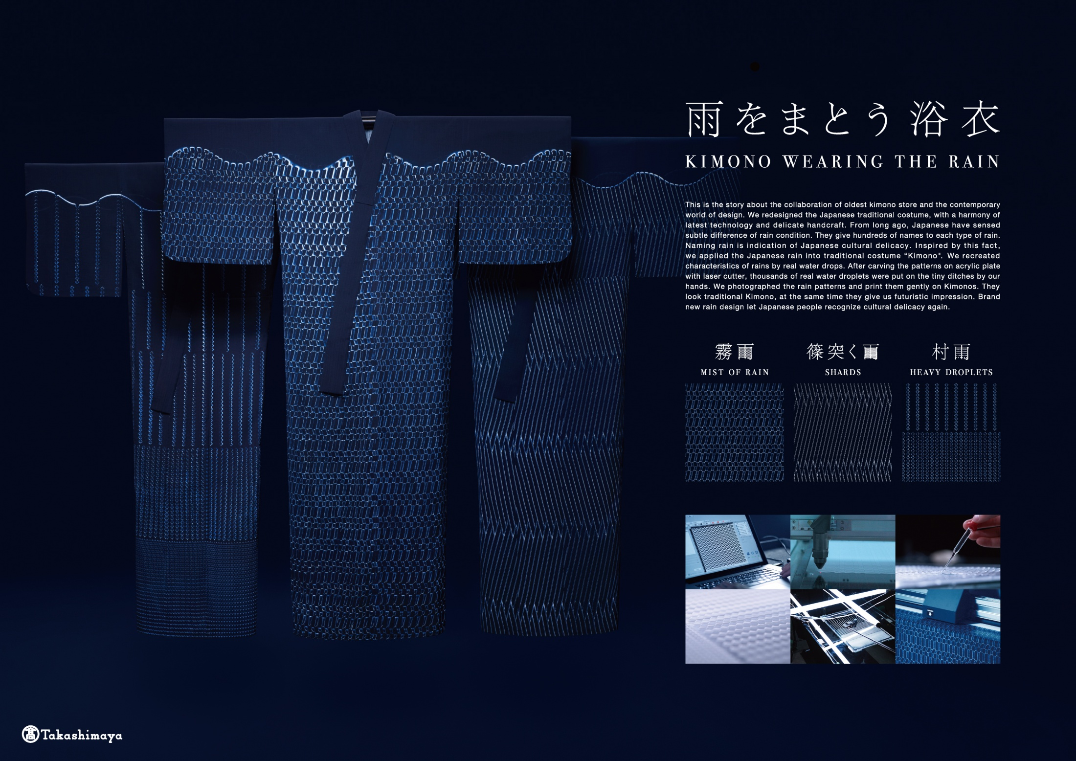 Thumbnail for Kimono Wearing The Rain