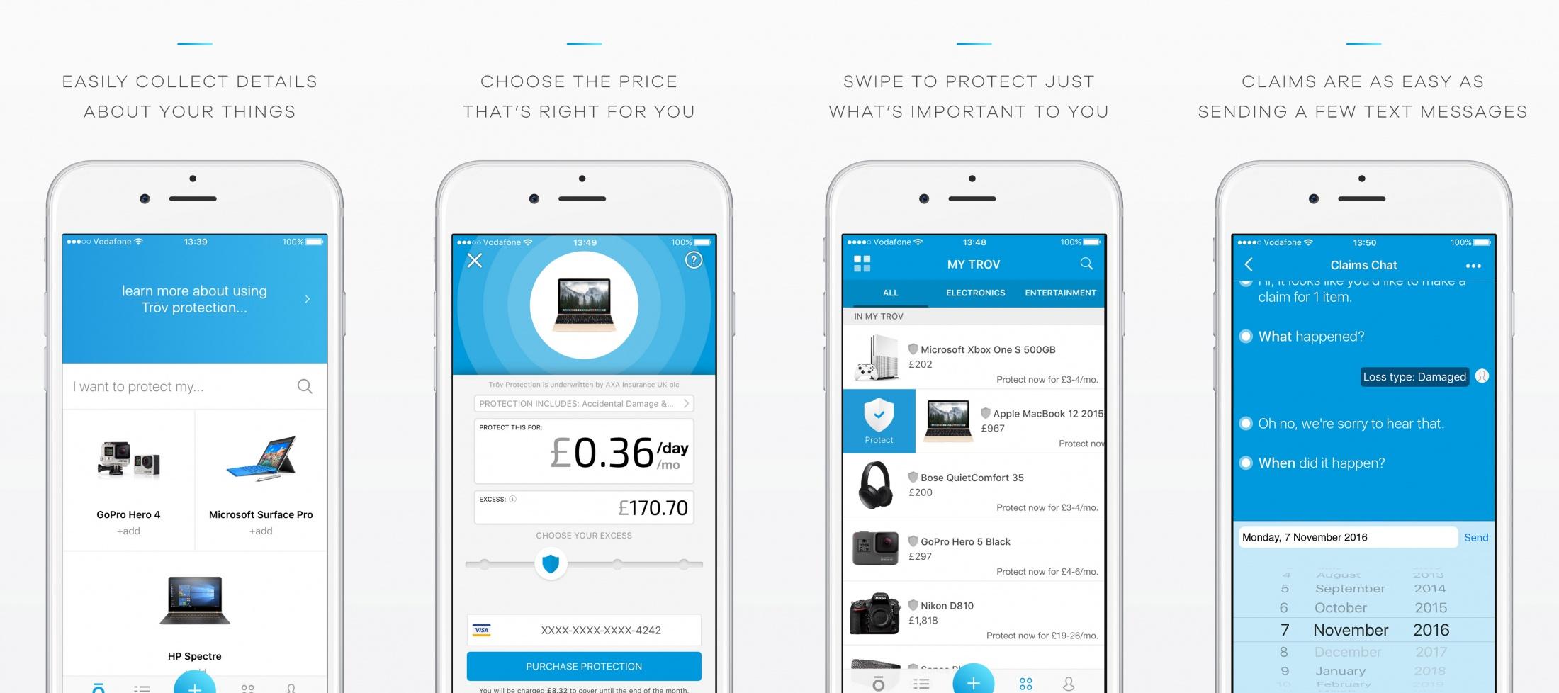 Thumbnail for Trōv Mobile Application