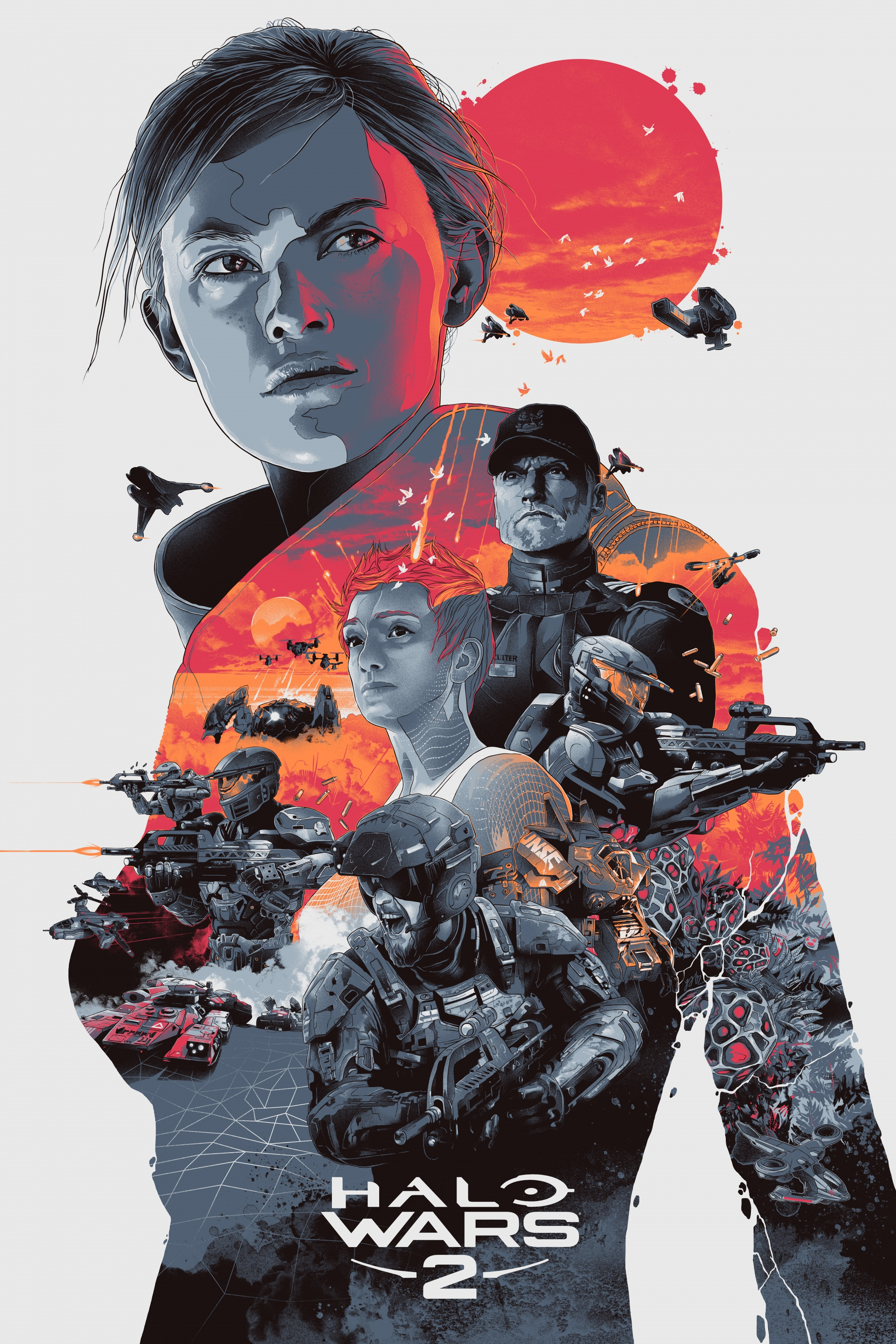 Thumbnail for Halo Wars 2 Art Series- Professor Anders
