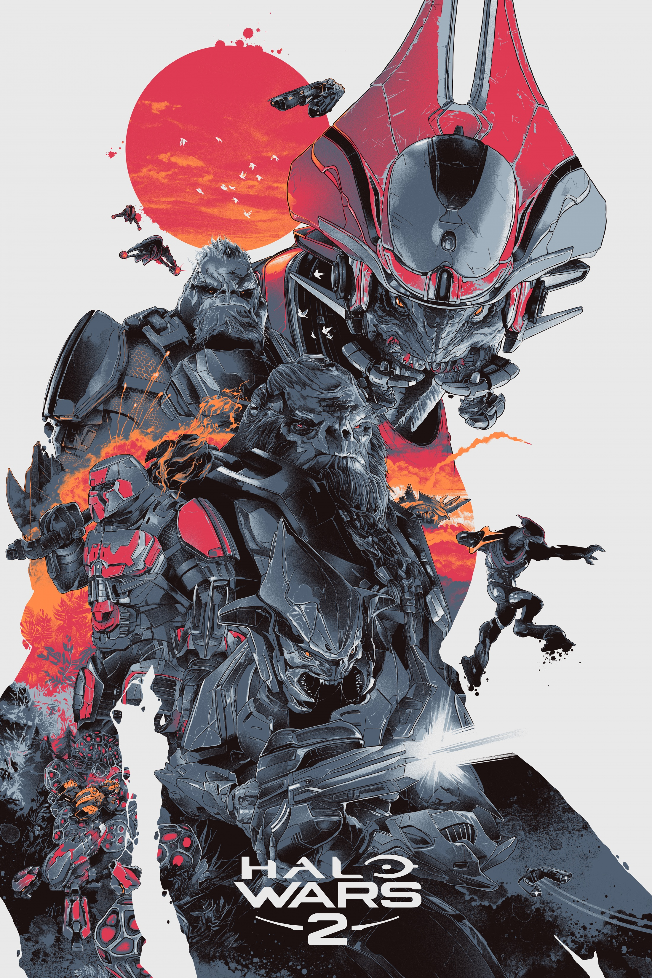 Thumbnail for Halo Wars 2 Art Series- Shipmaster