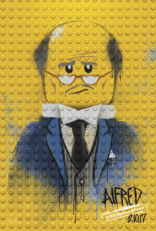 Thumbnail for The LEGO Batman Movie - Graffiti Wild Postings | Alfred
