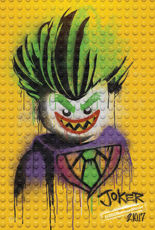 Thumbnail for The LEGO Batman Movie - Graffiti Wild Postings | The Joker