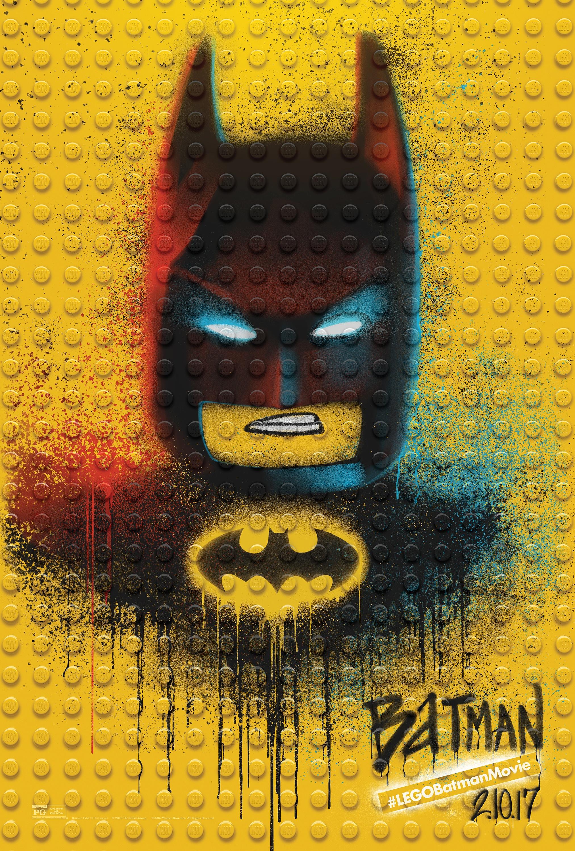 Thumbnail for The LEGO Batman Movie - Graffiti Wild Postings   Batman