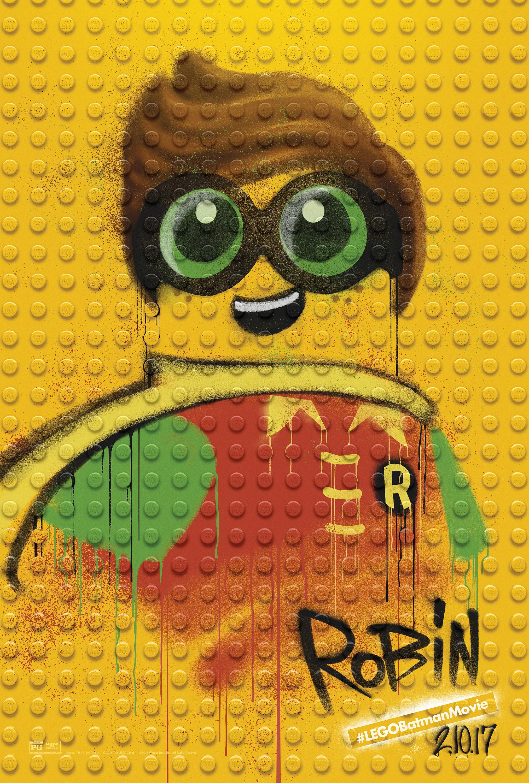 Thumbnail for The LEGO Batman Movie - Graffiti Wild Postings | Robin