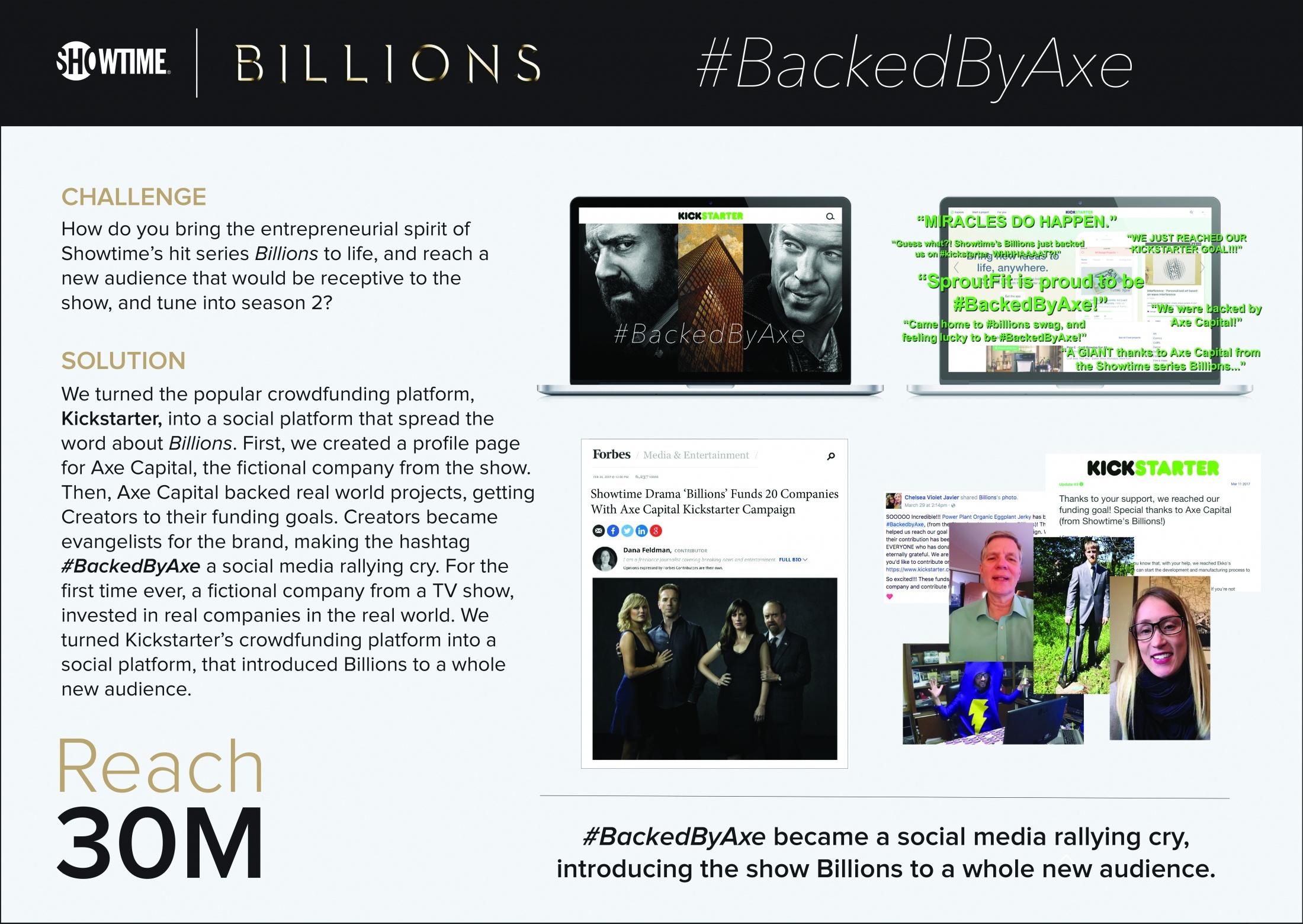 Thumbnail for #BackedByAxe