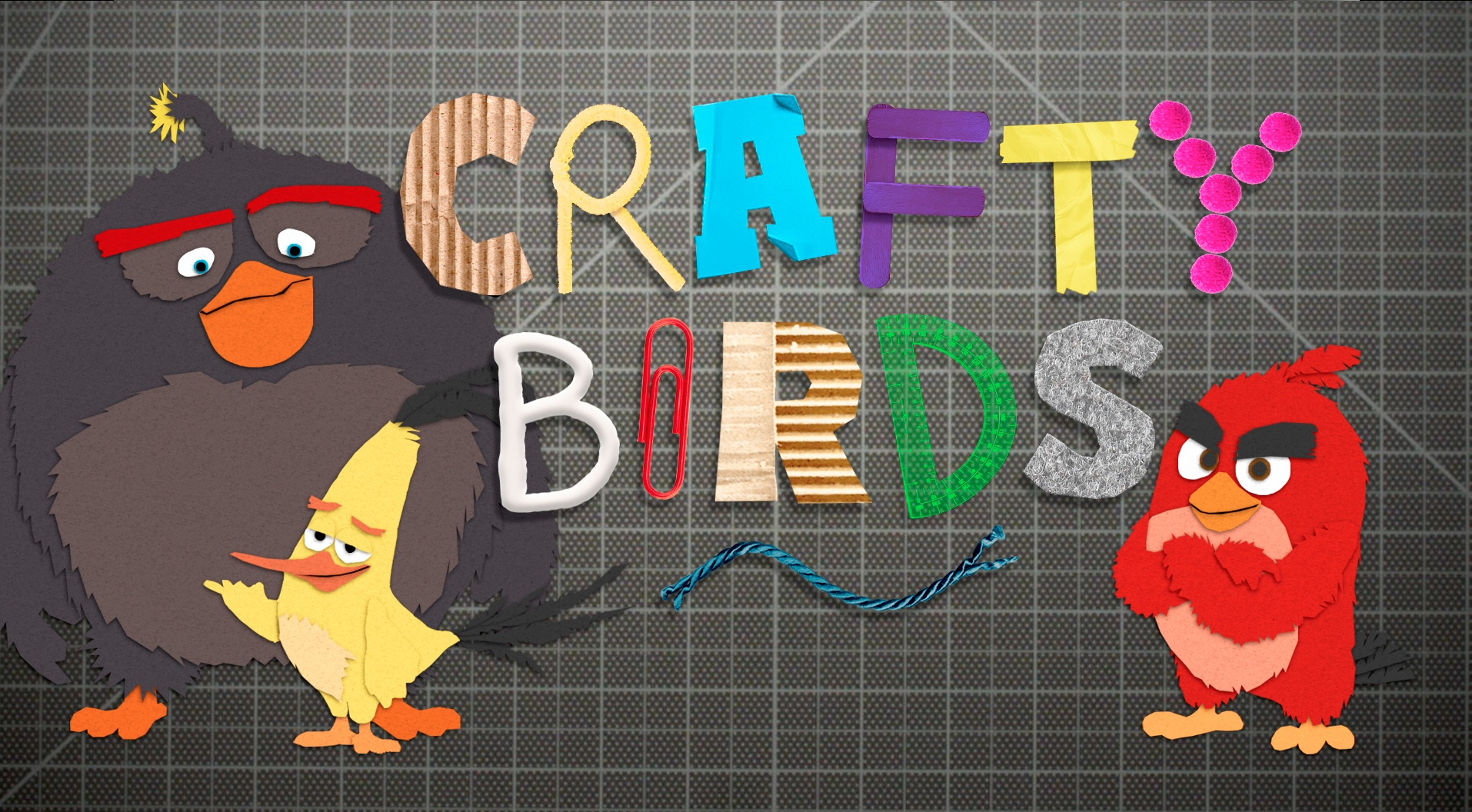 Thumbnail for Angry Birds - Crafty Birds