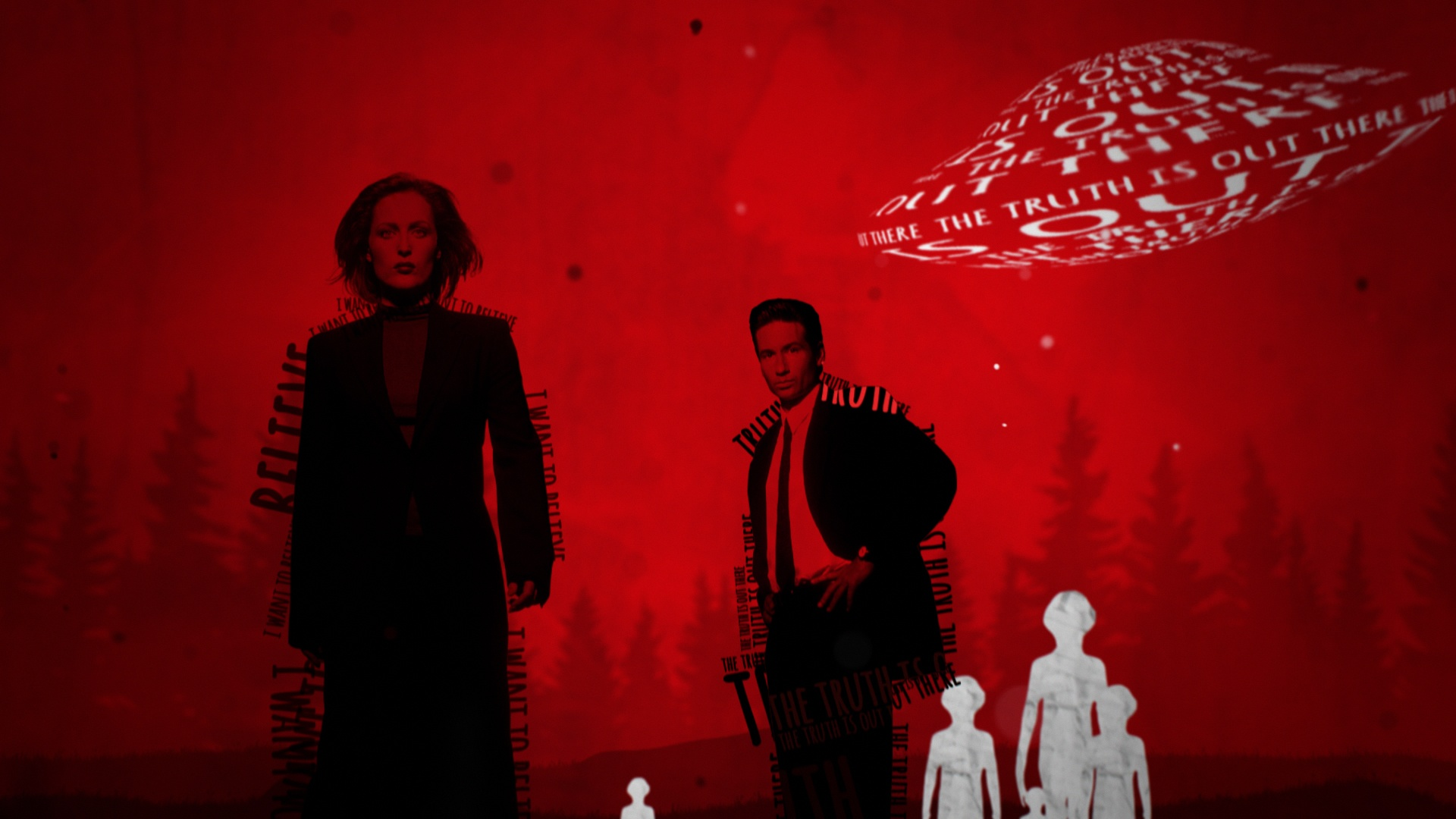 Thumbnail for The X-Files Flying Saucer Tease Spot