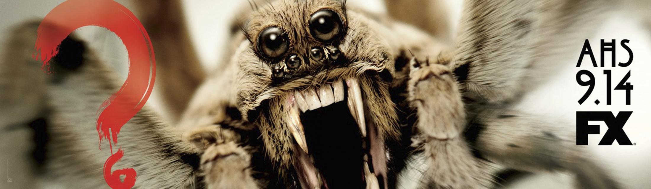 Thumbnail for American Horror Story - Roanoke teaser billboard (wolf spider)