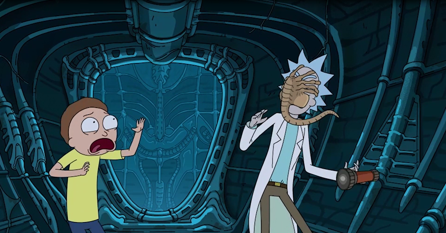 Thumbnail for Alien: Covenant/ Rick and Morty Integration