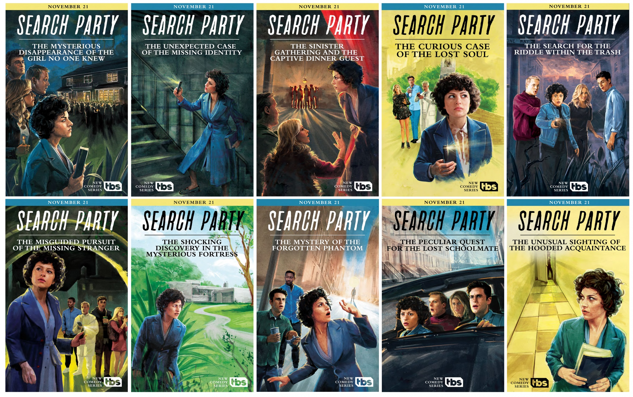 Thumbnail for Search Party: S1 Posters