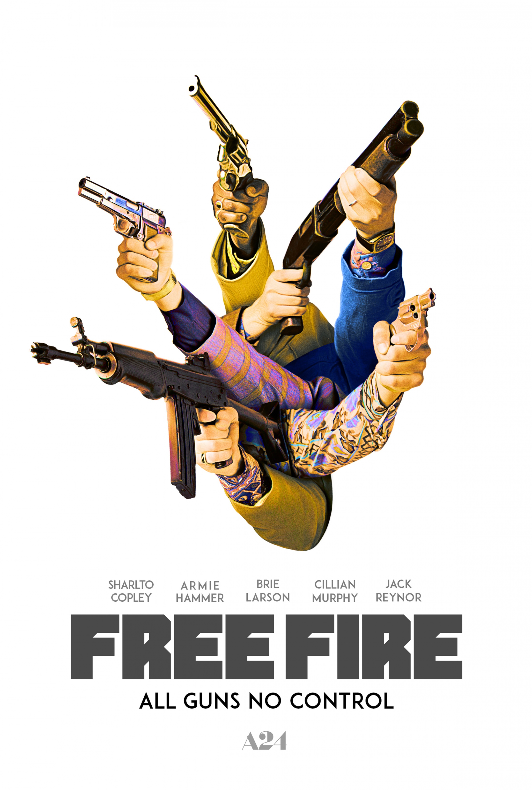 Thumbnail for Free Fire One-Sheet Teaser