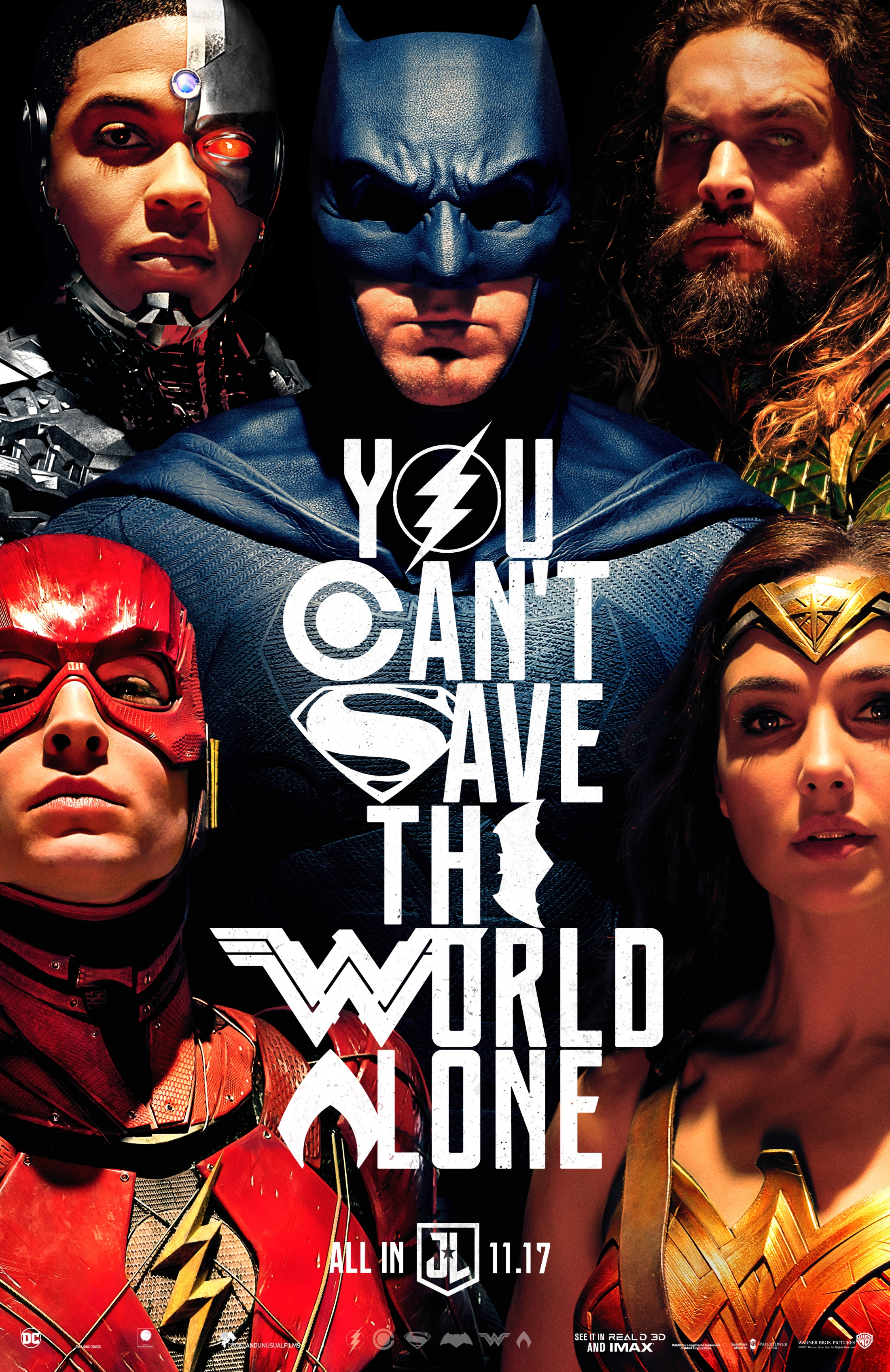 Thumbnail for Justice League One-Sheet