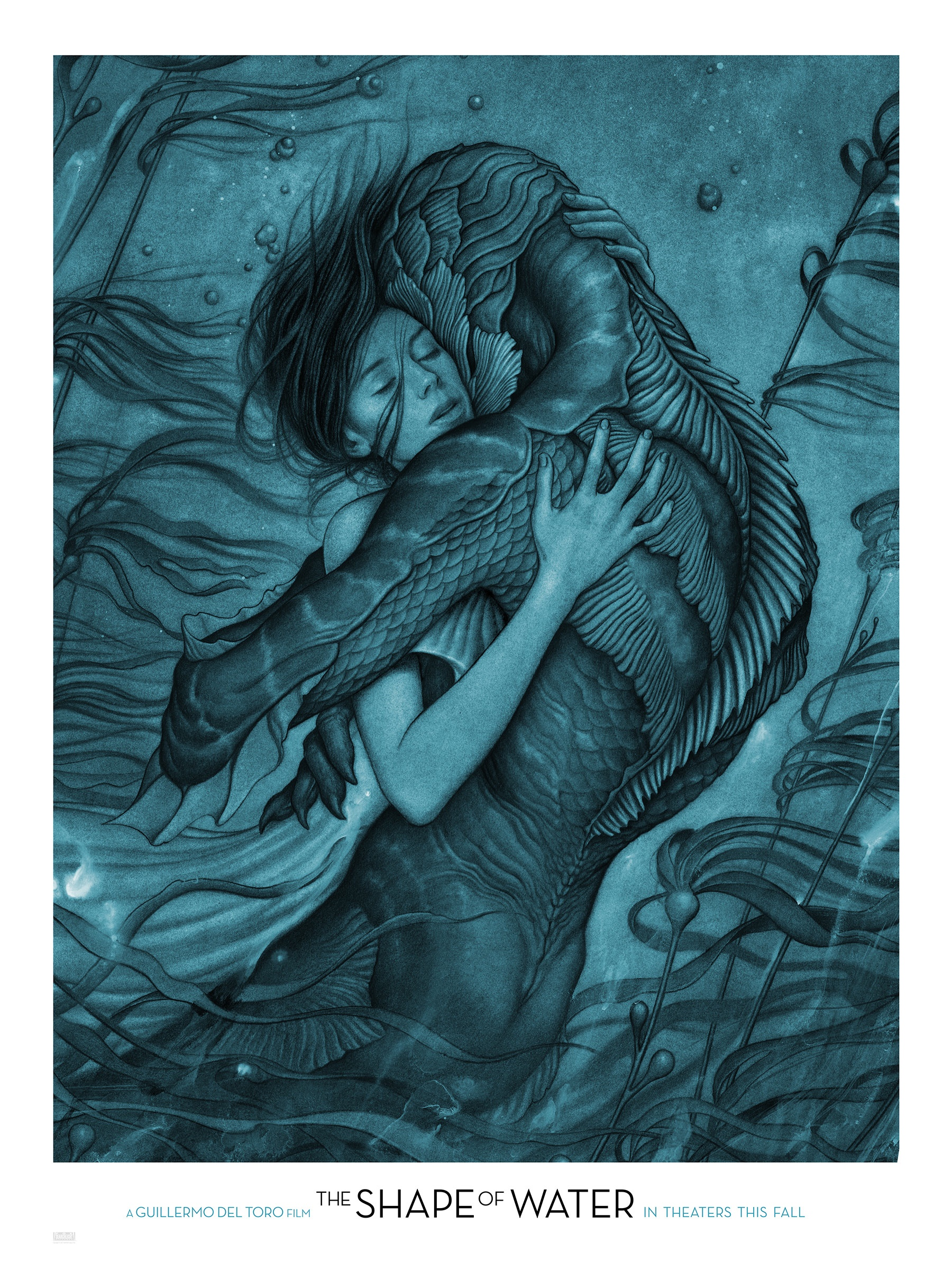 Thumbnail for The Shape of Water Blue Art