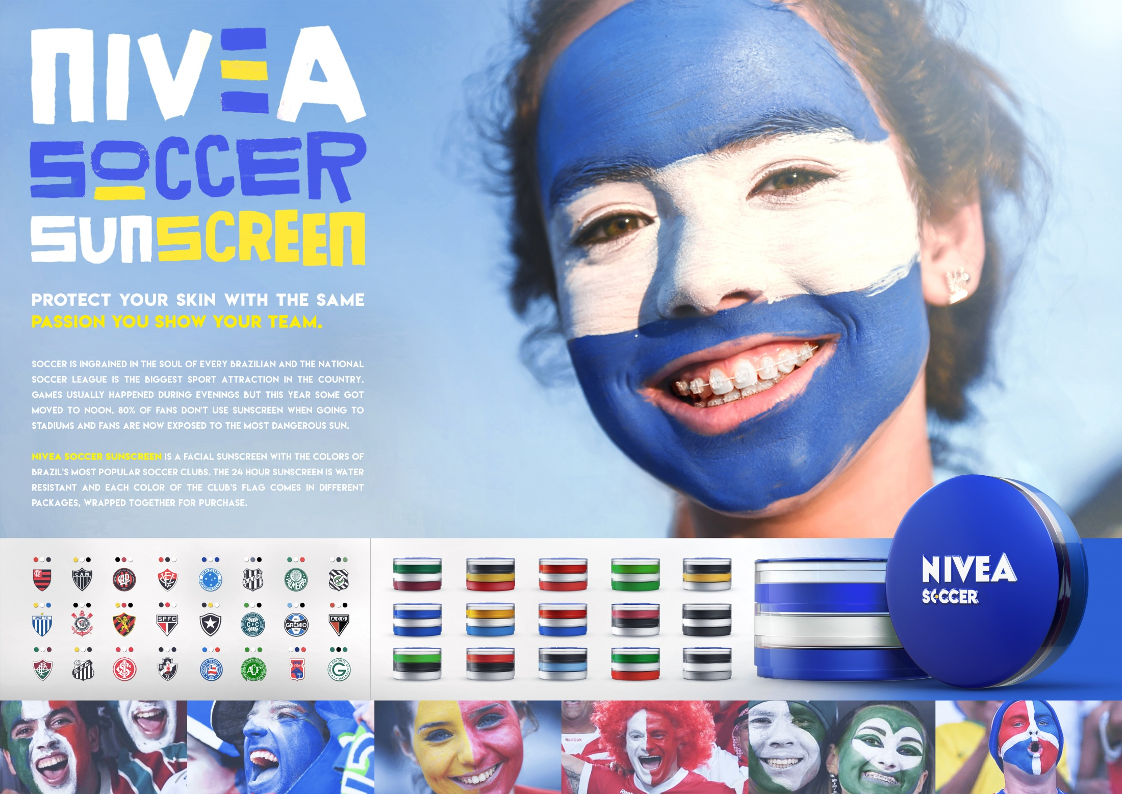 Thumbnail for Nivea Soccer Sunscreen