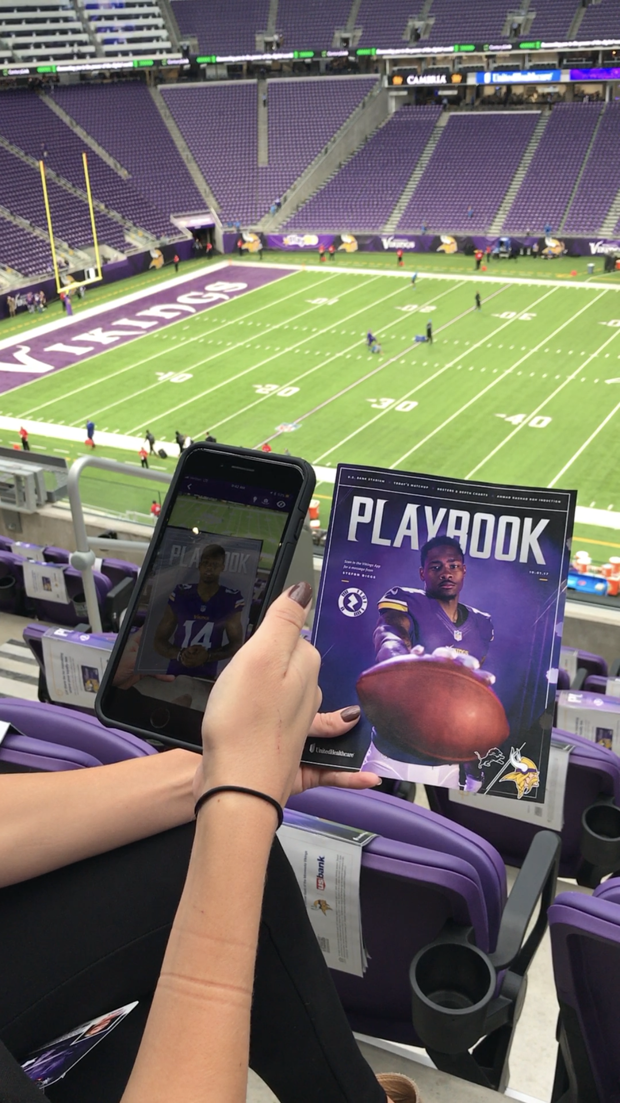 Image Media for Augmenting Game Day