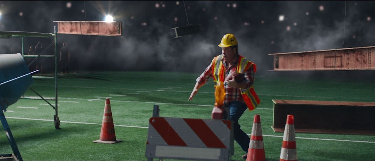 Thumbnail for ESPN - Monday Night Football 'Construction Worker'