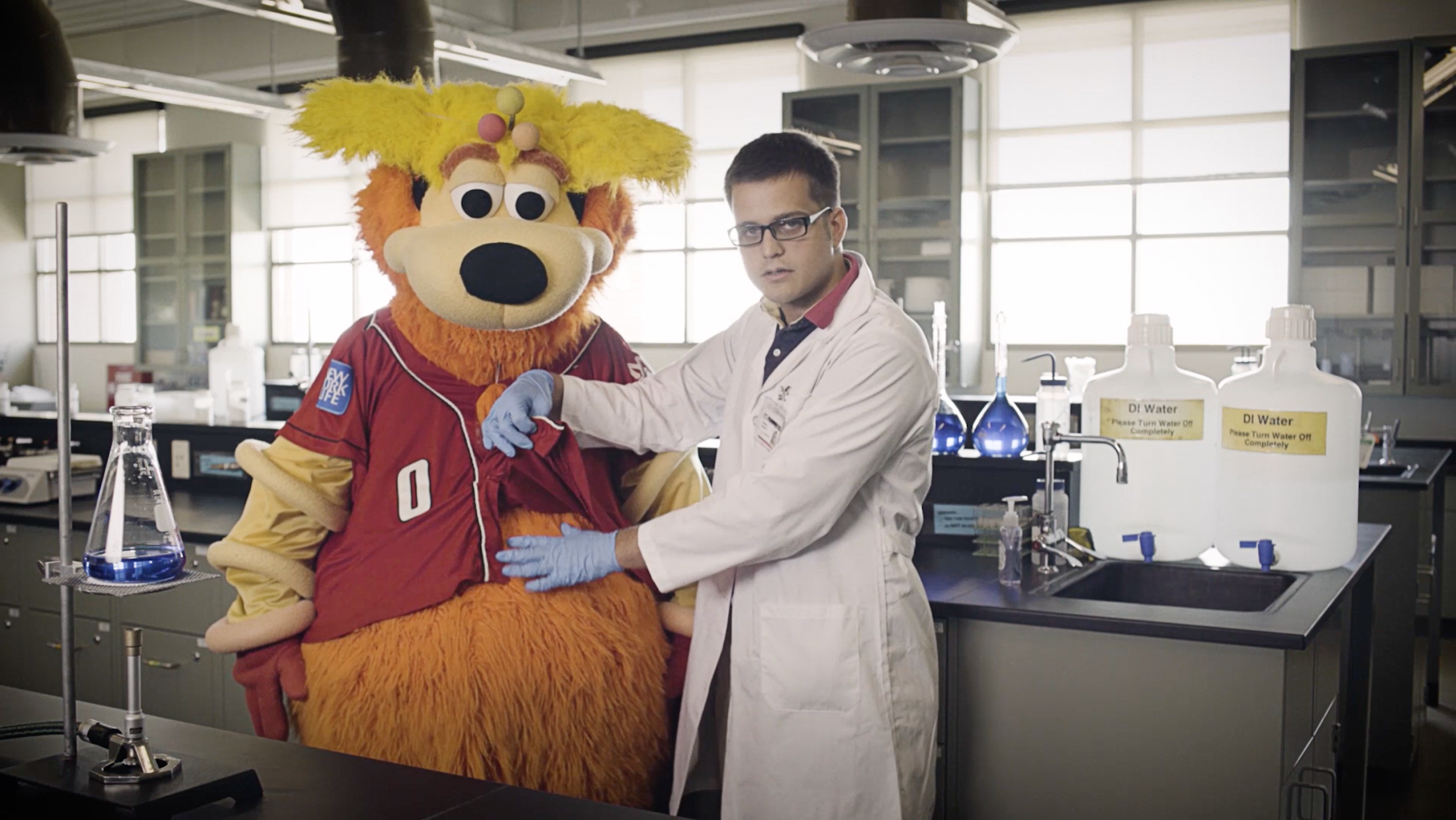 Image Media for MINOR LEAGUE MASCOTS, MAJOR LEAGUE FUNK | ORBIT
