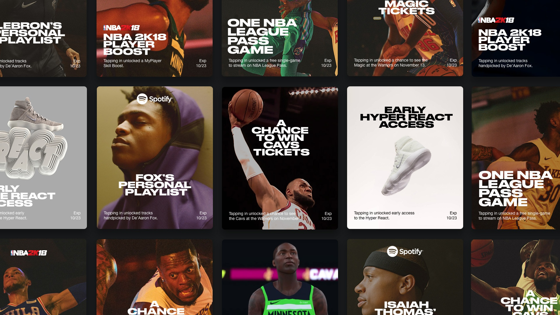 Thumbnail for Nike NBA Connected Jersey