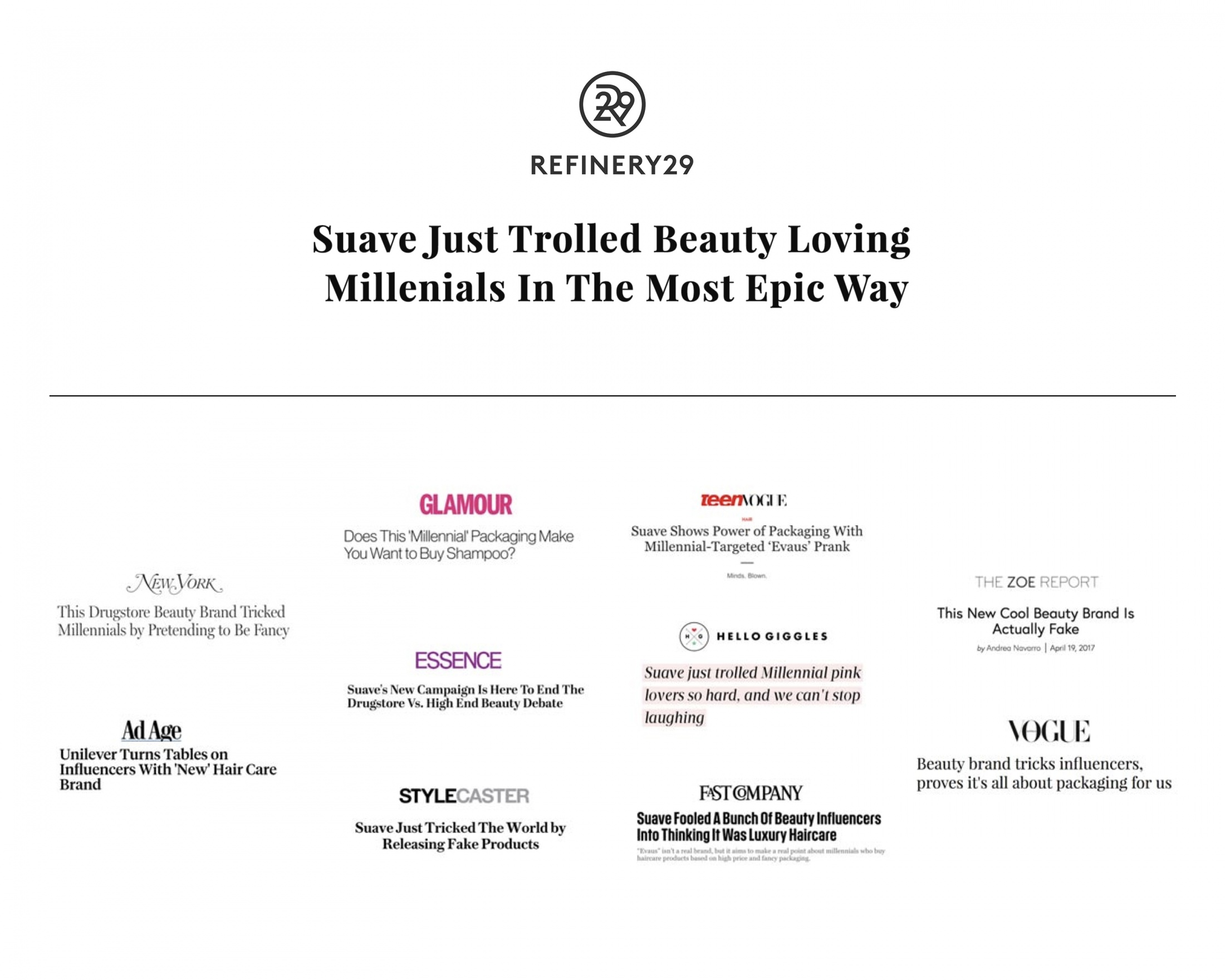 Thumbnail for The Evaus Project: Trolling The Beauty Industry To Change Brand Perception