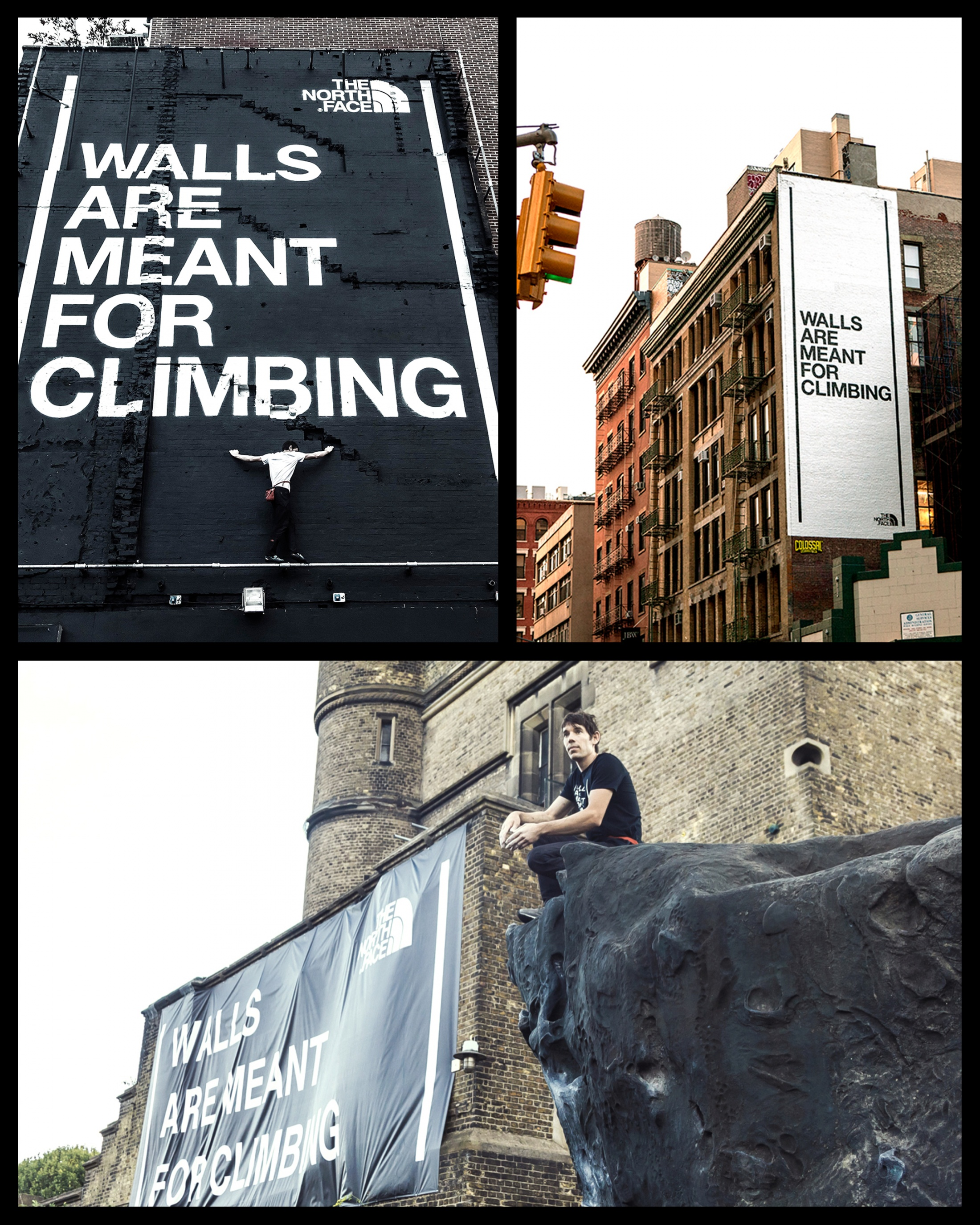Thumbnail for Walls are Meant for Climbing; hijacking the most powerful cultural conversation of 2017.