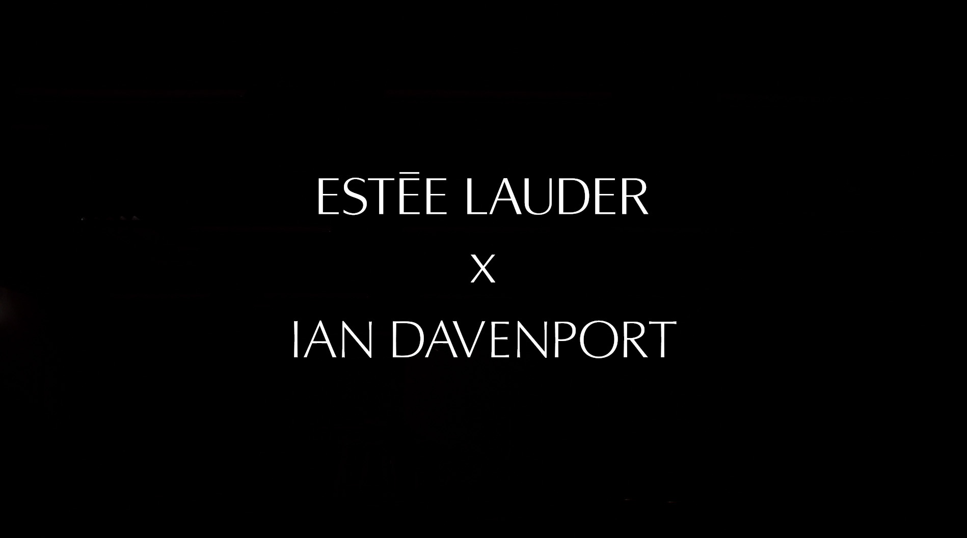 Thumbnail for Estee Lauder X Ian Davenport