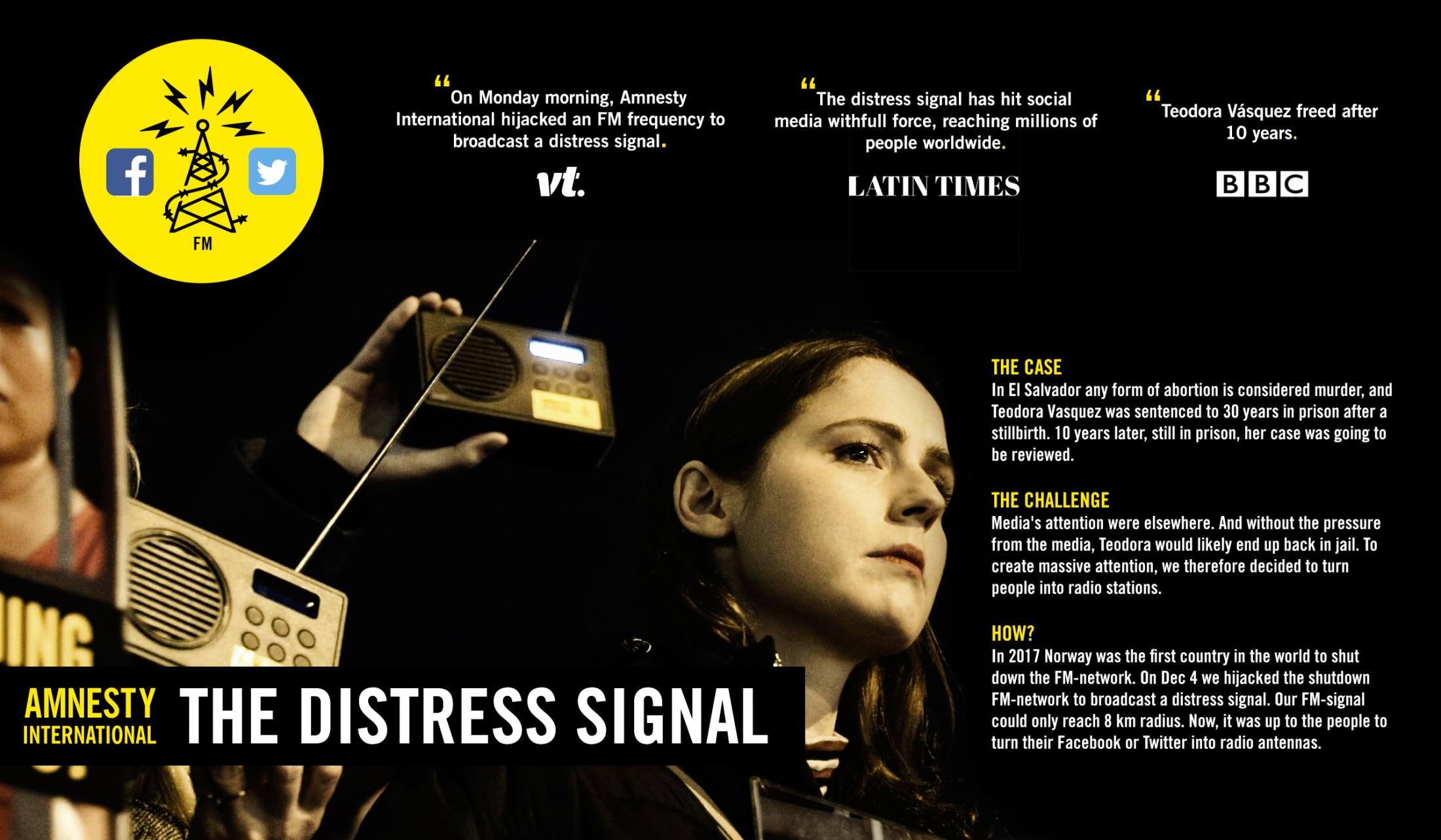 Thumbnail for The Distress Signal